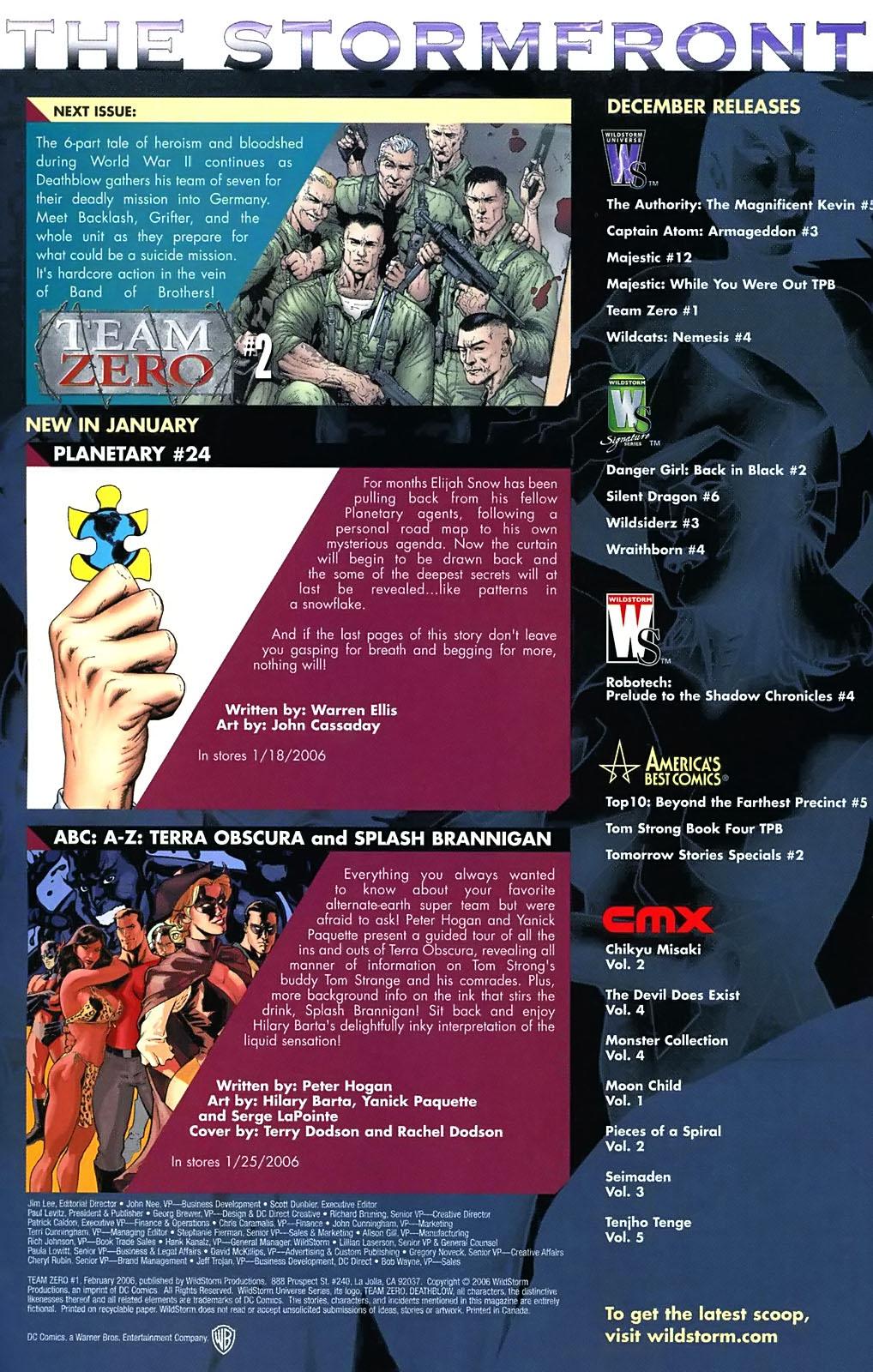 Read online Team Zero comic -  Issue #1 - 21