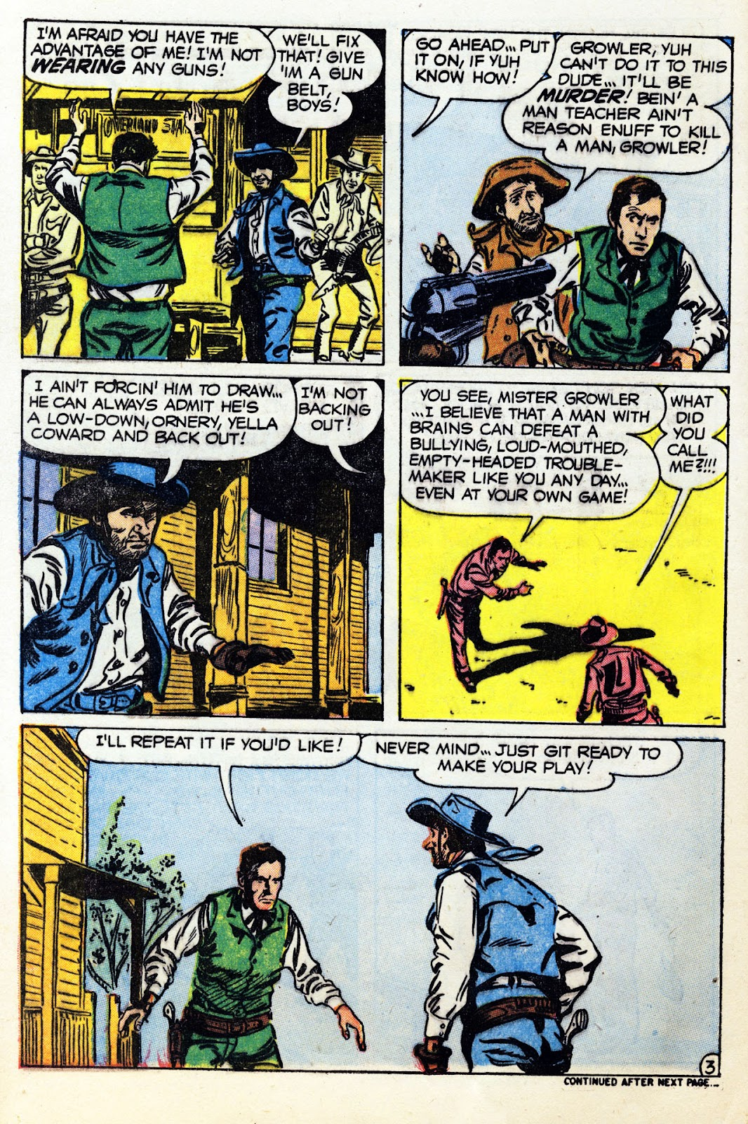 Gunsmoke Western issue 36 - Page 12