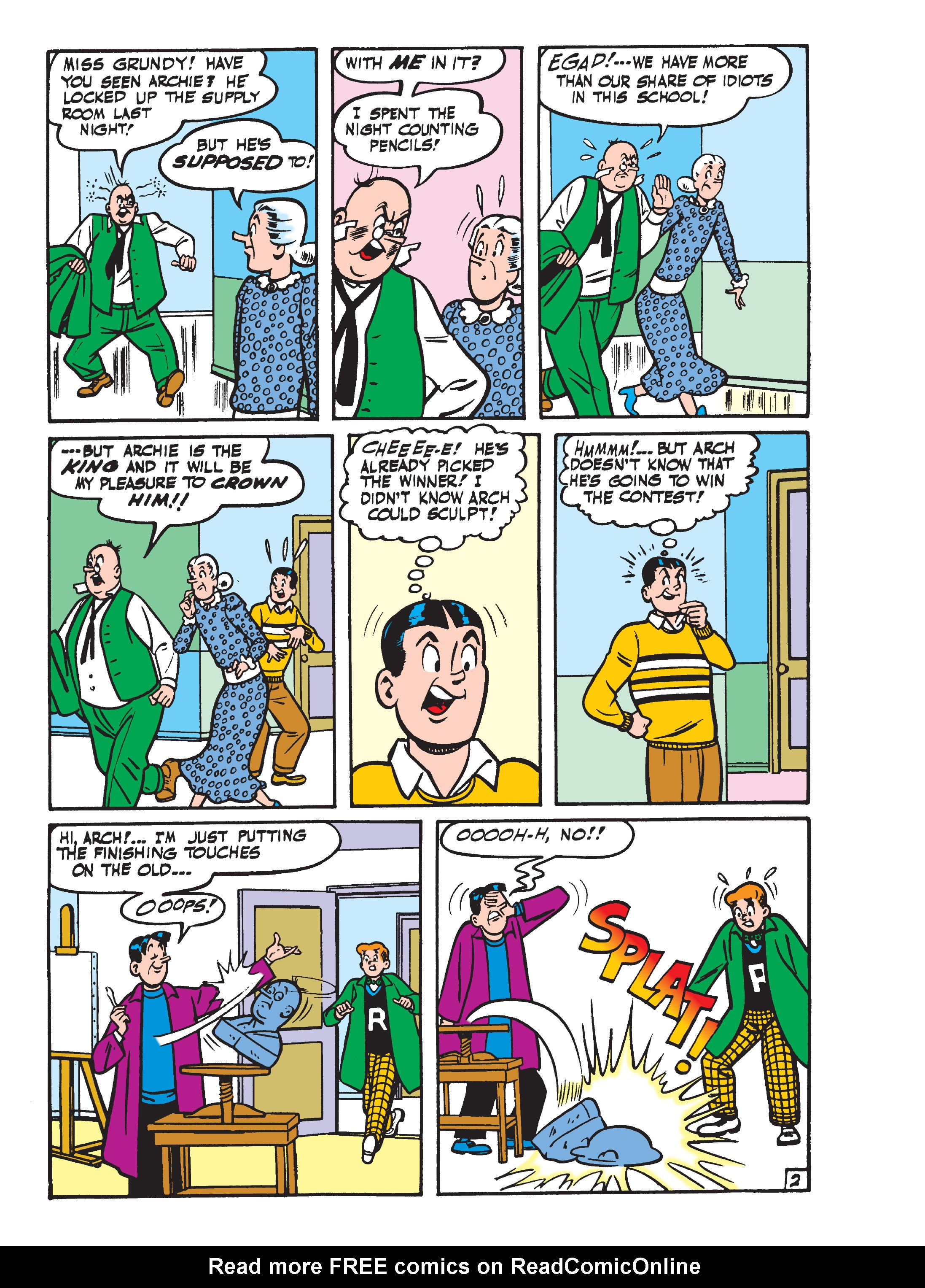 Read online World of Archie Double Digest comic -  Issue #55 - 135