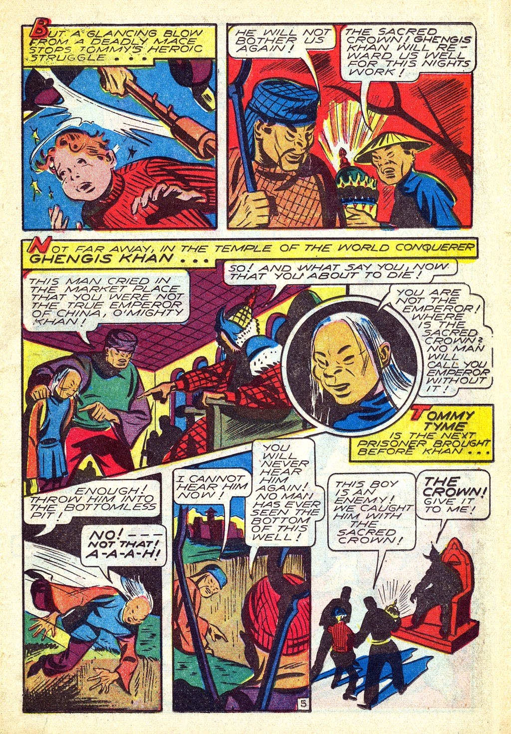 Read online Mystic Comics (1944) comic -  Issue #3 - 23