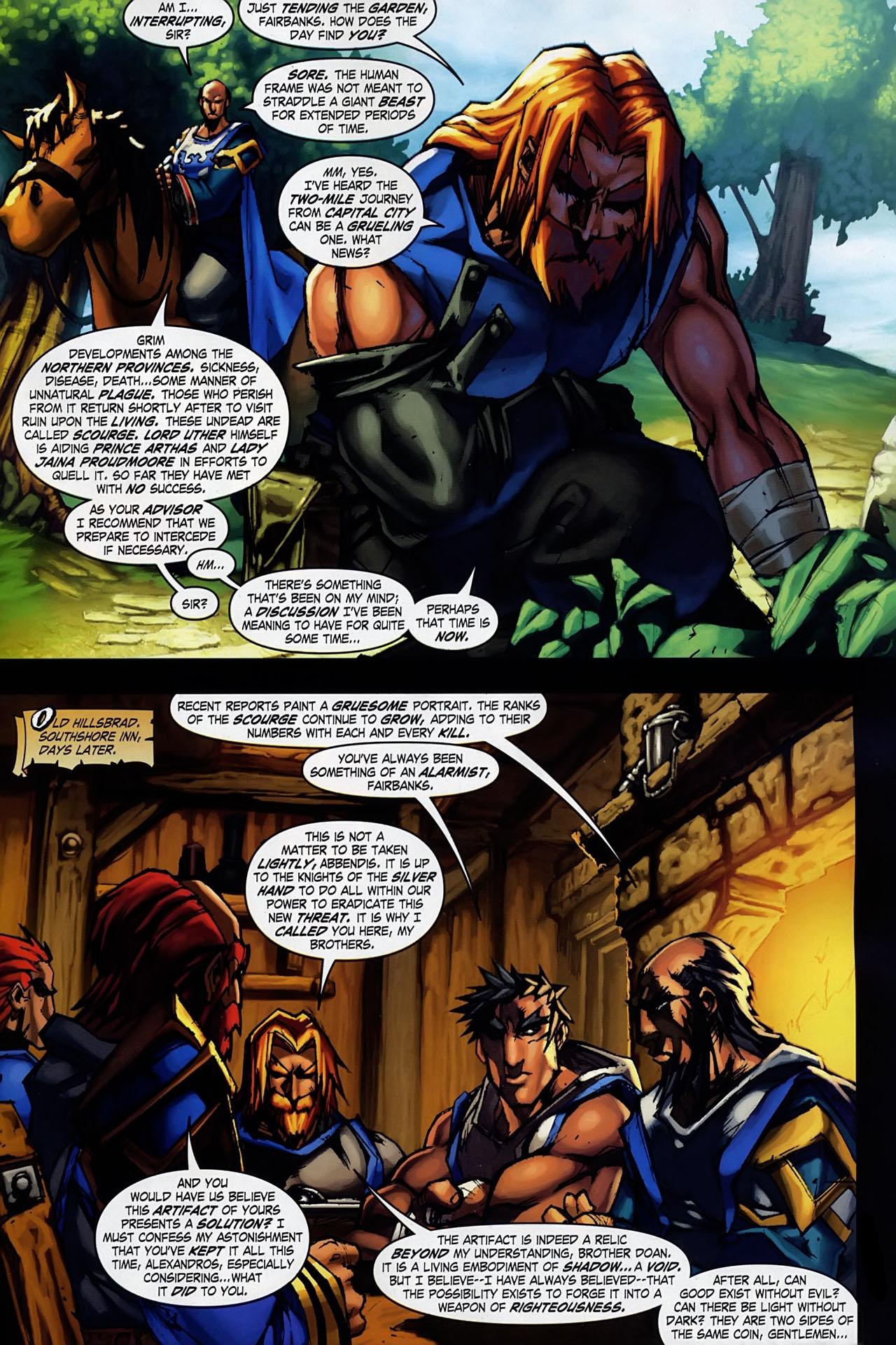 Read online World of Warcraft: Ashbringer comic -  Issue #1 - 9