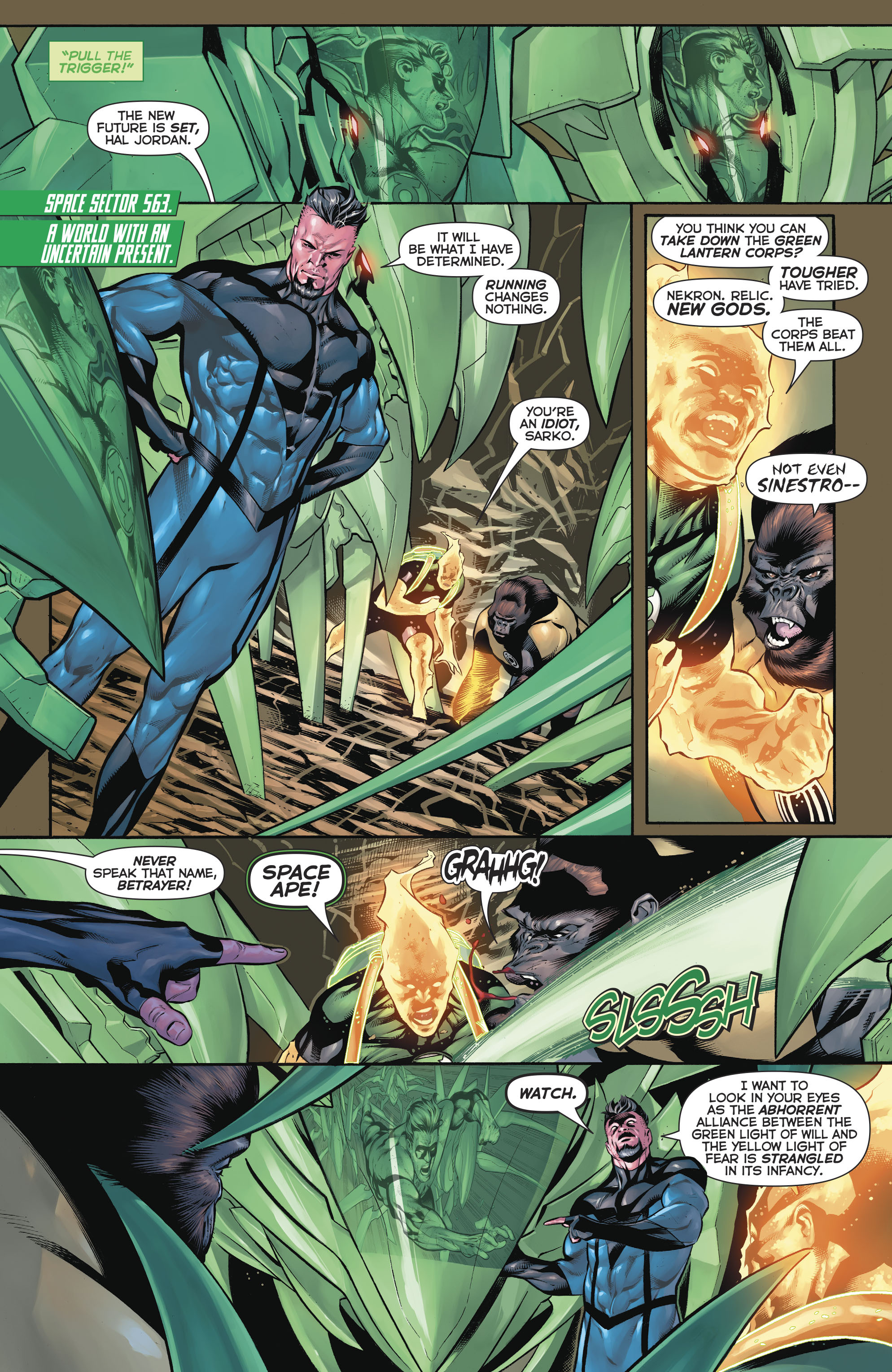Read online Hal Jordan And The Green Lantern Corps comic -  Issue #20 - 9