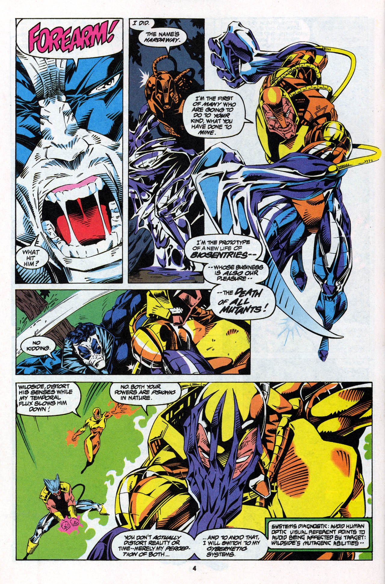 Read online X-Force (1991) comic -  Issue #27 - 6