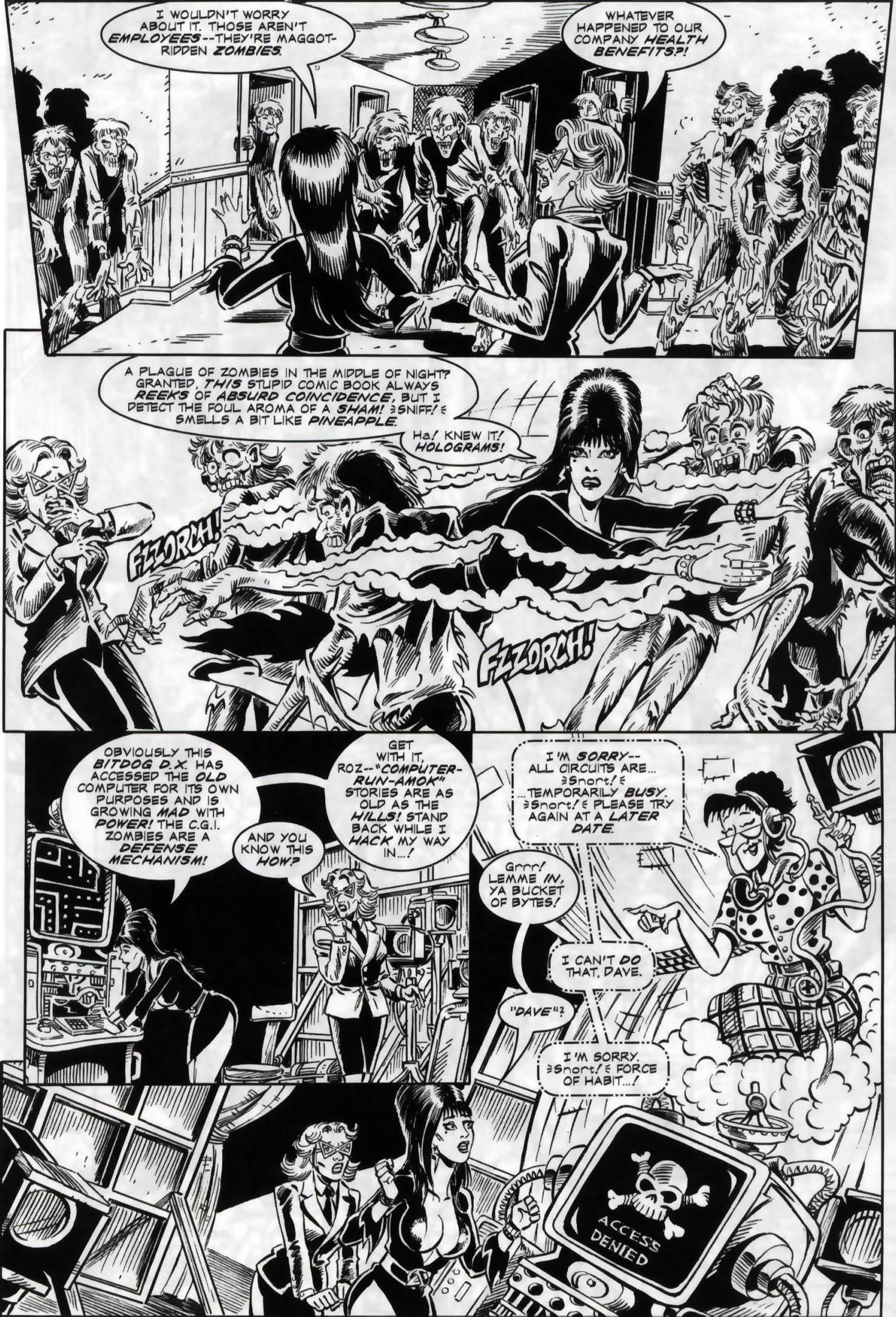 Read online Elvira, Mistress of the Dark comic -  Issue #119 - 11