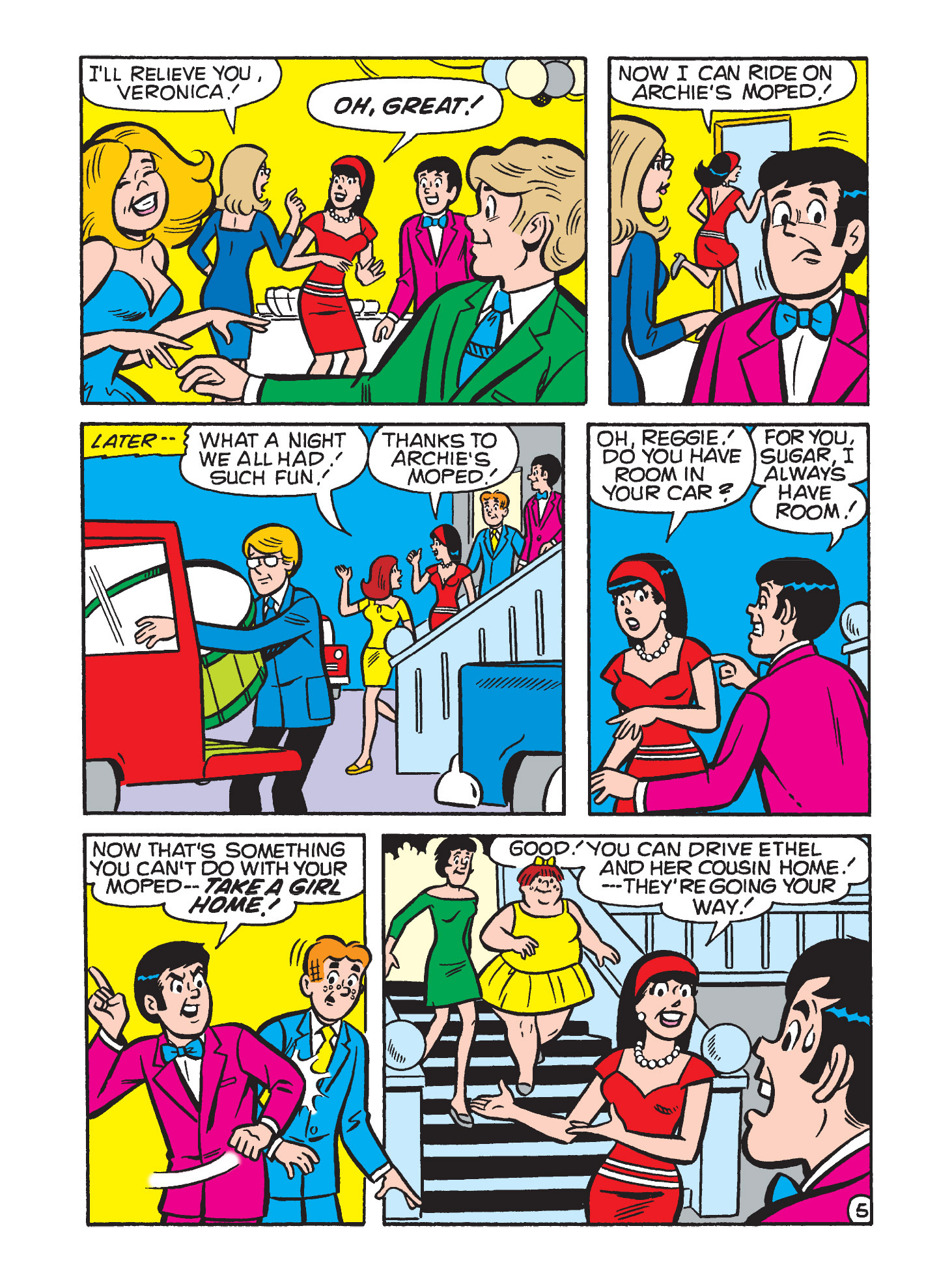 Read online Archie's Funhouse Double Digest comic -  Issue #9 - 82