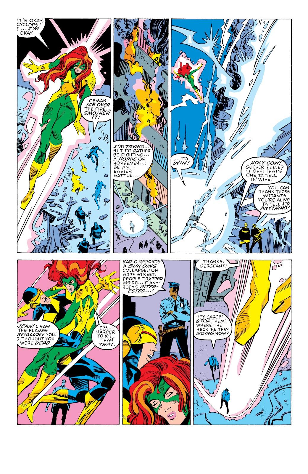 Read online X-Men Milestones: Fall of the Mutants comic -  Issue # TPB (Part 3) - 53