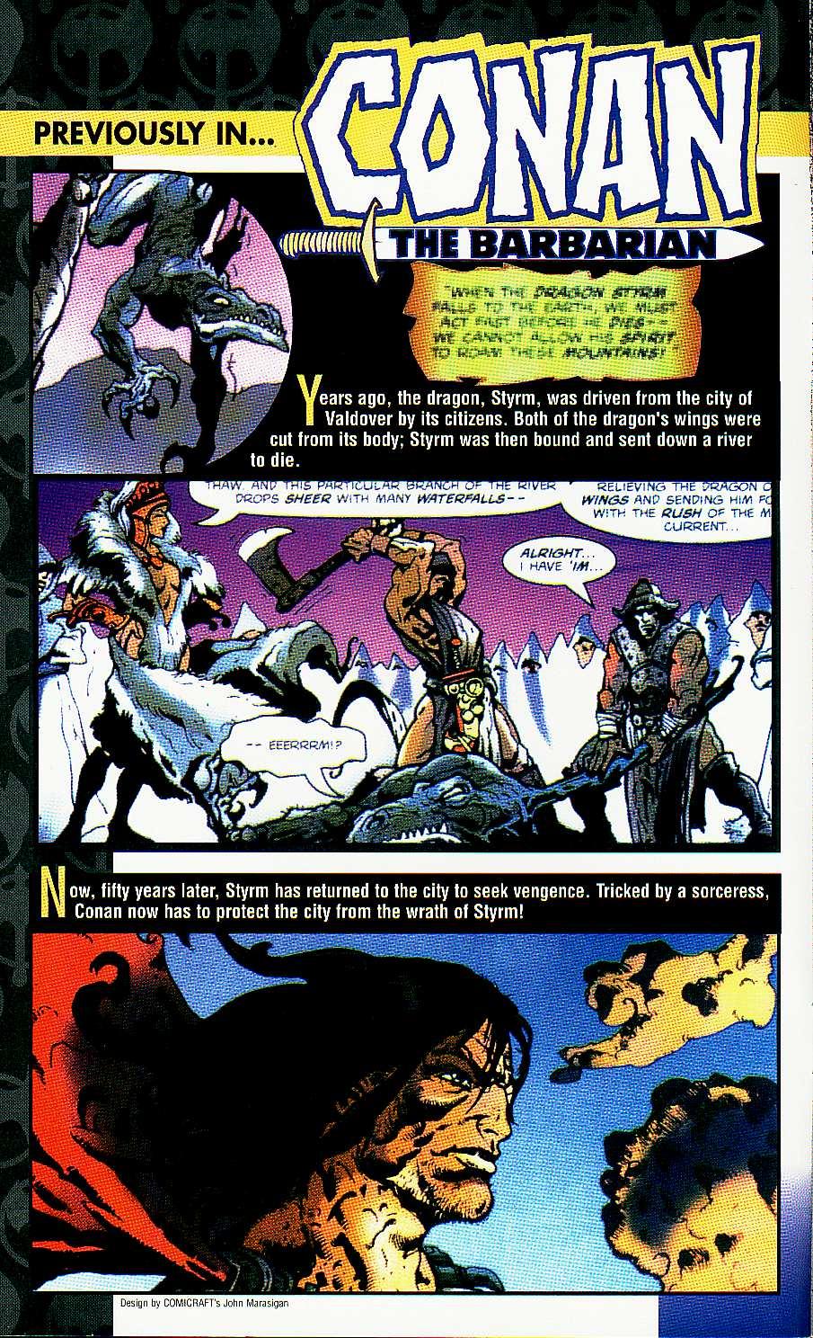Read online Conan: Return of Styrm comic -  Issue #3 - 3