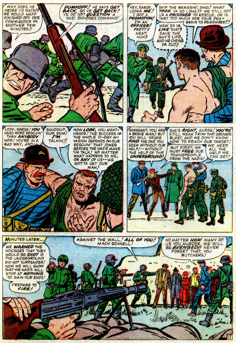 Read online Sgt. Fury comic -  Issue #1 - 20