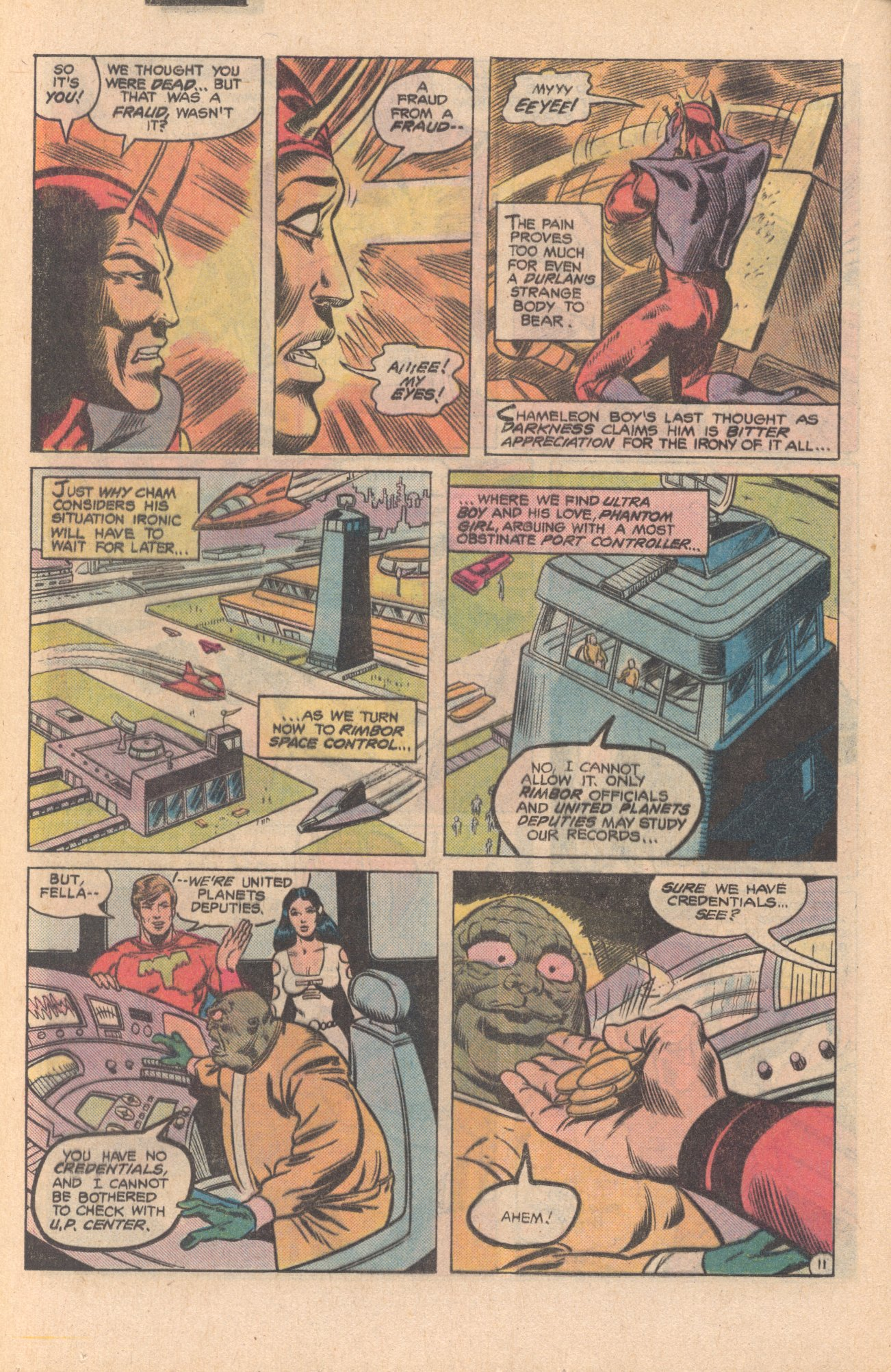 Legion of Super-Heroes (1980) 273 Page 11