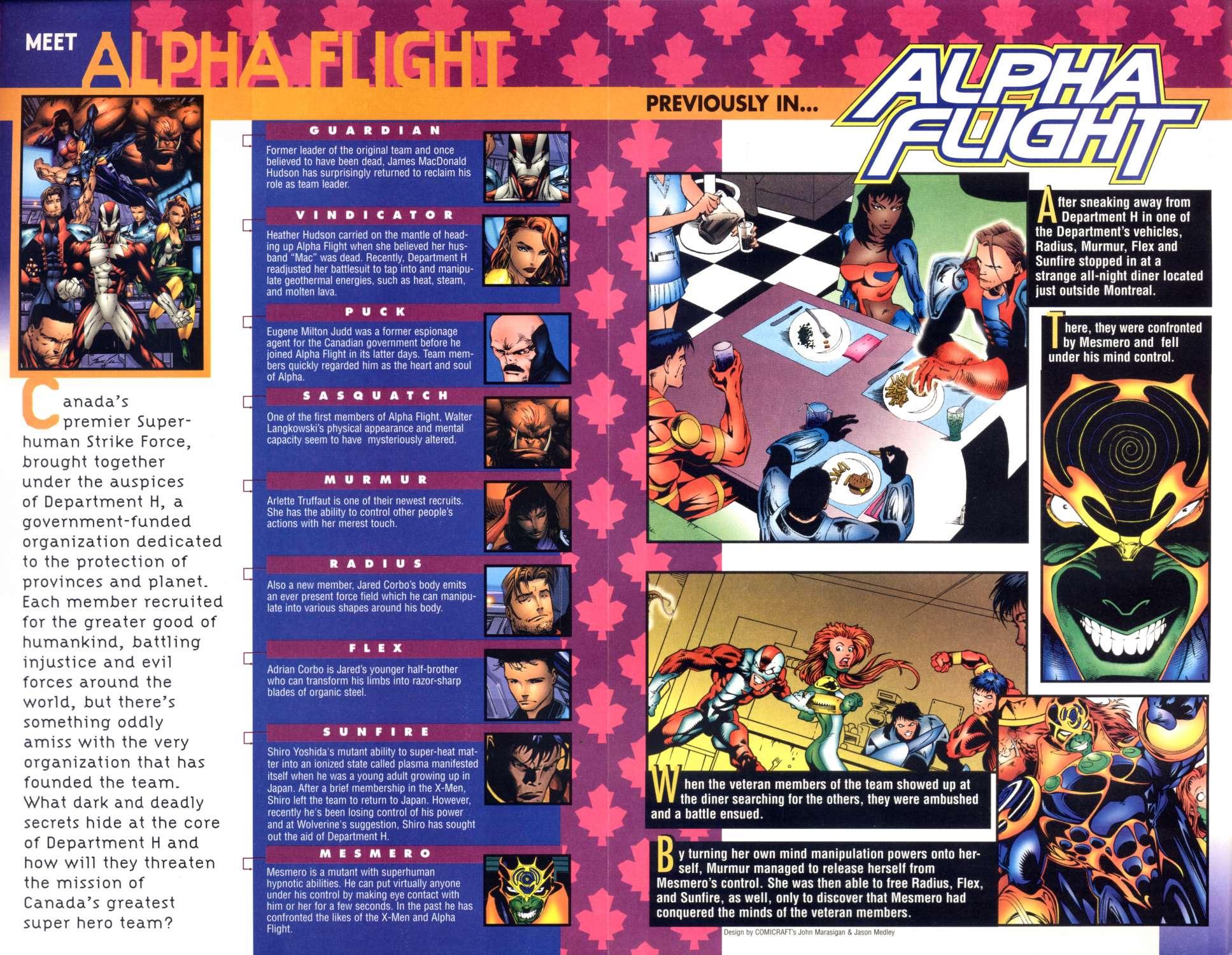 Read online Alpha Flight (1997) comic -  Issue #5 - 2