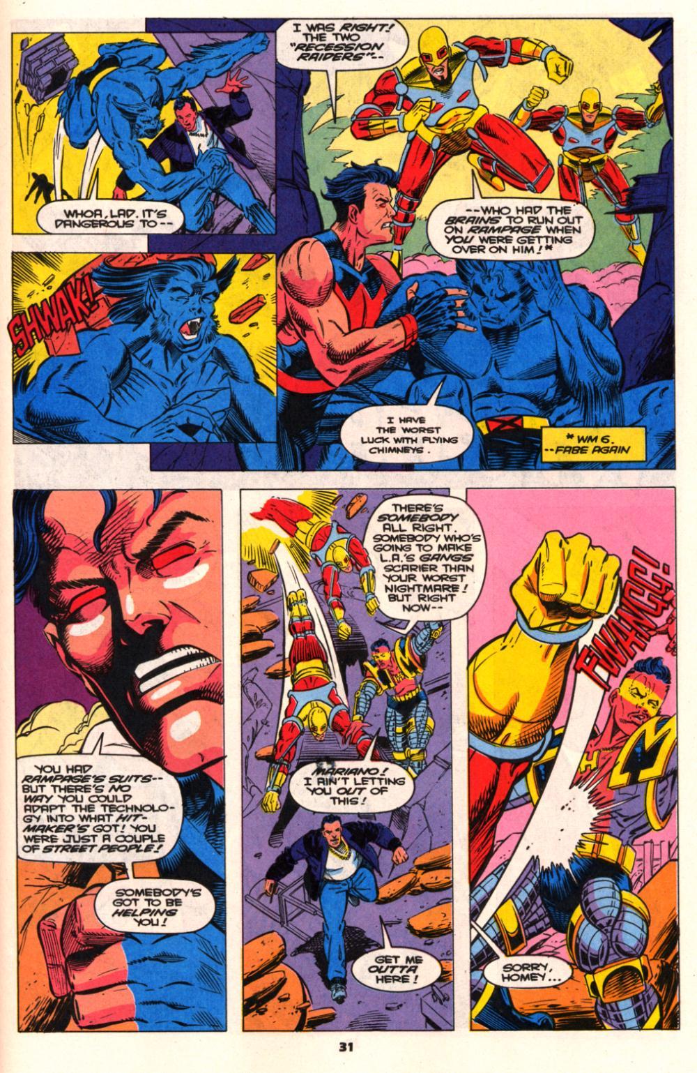 Read online Wonder Man (1991) comic -  Issue # _Annual 2 - 29