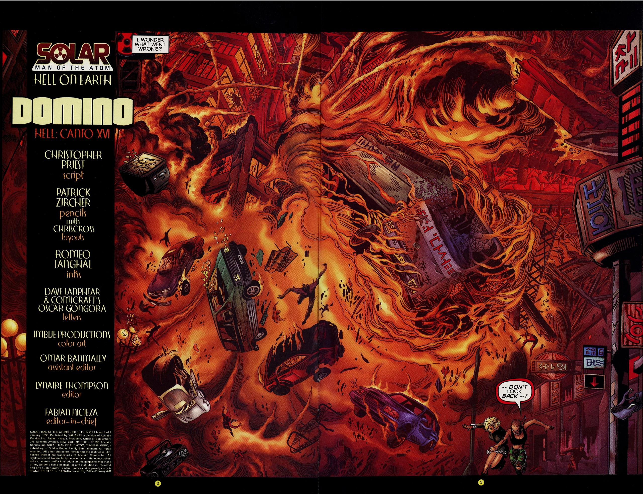 Read online Solar, Man of the Atom: Hell on Earth comic -  Issue #1 - 4