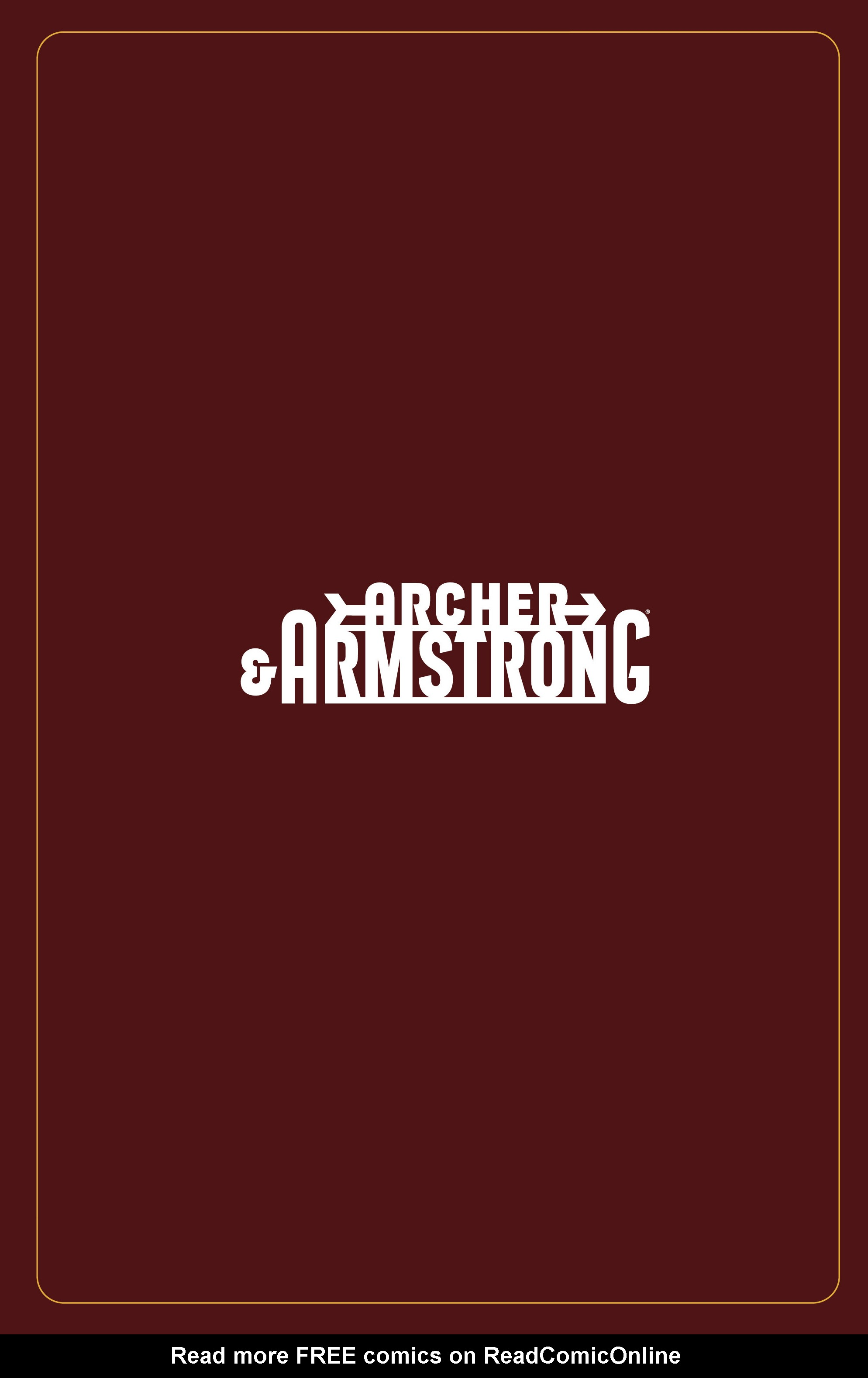 Read online Archer and Armstrong comic -  Issue #Archer and Armstrong _TPB 5 - 7