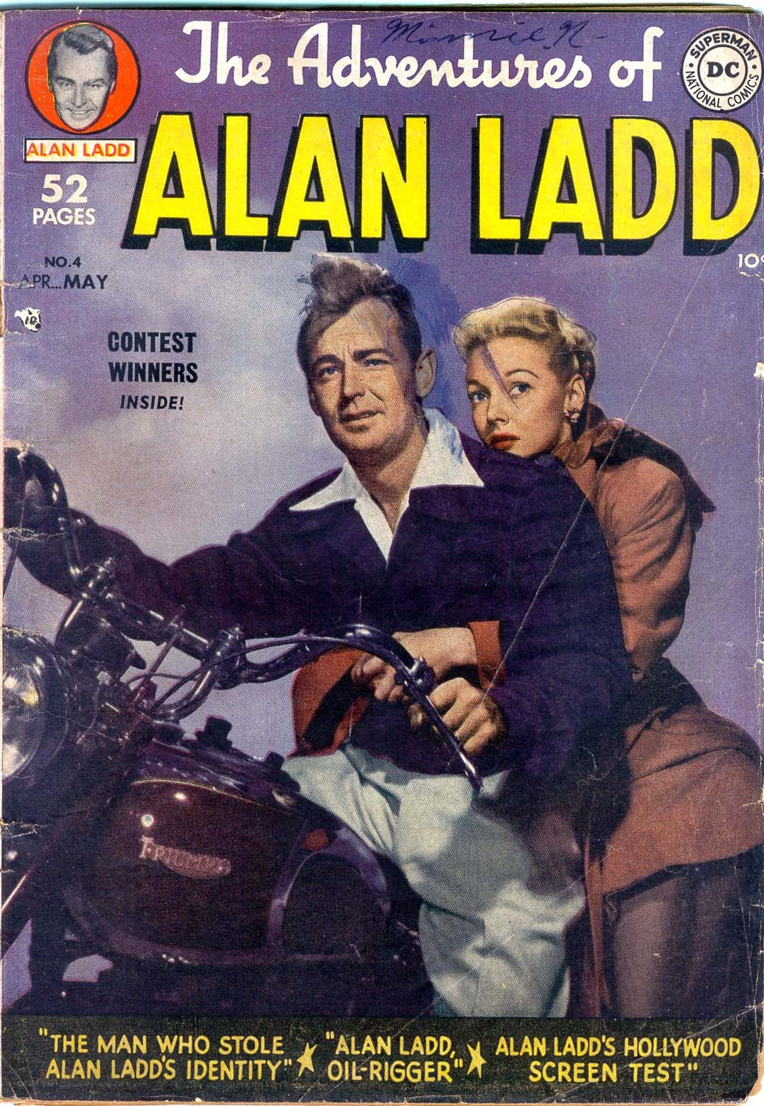 Adventures of Alan Ladd issue 4 - Page 1