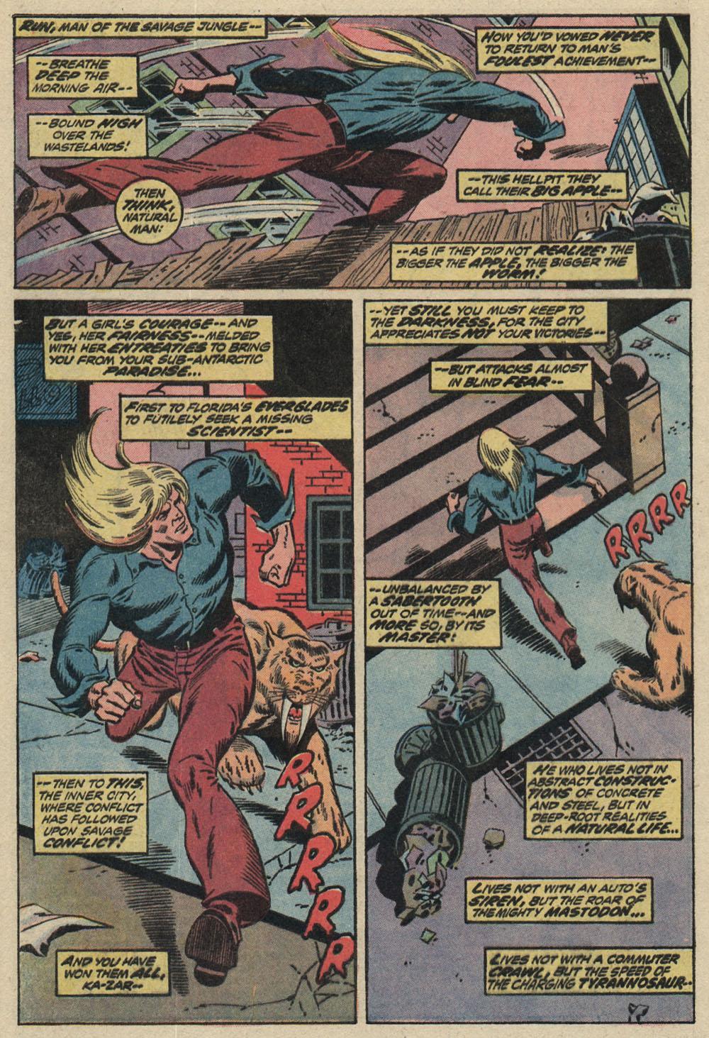 Read online Astonishing Tales (1970) comic -  Issue #19 - 6