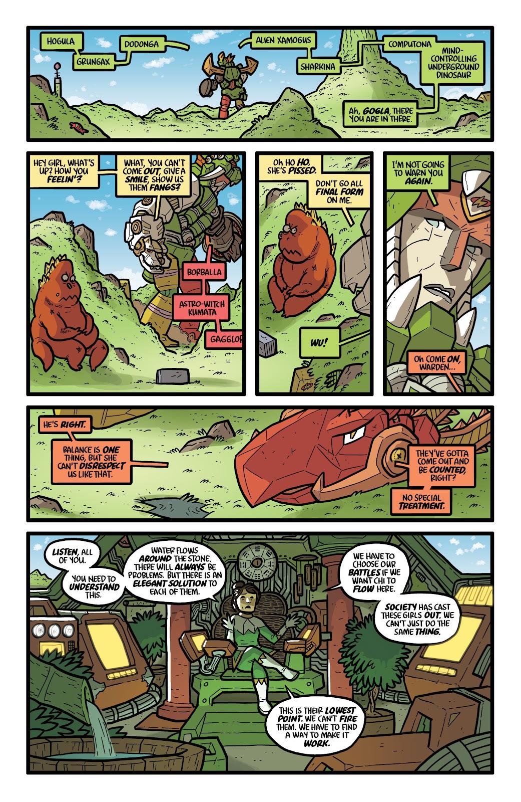 Read online Kaijumax: Season Four comic -  Issue #5 - 13