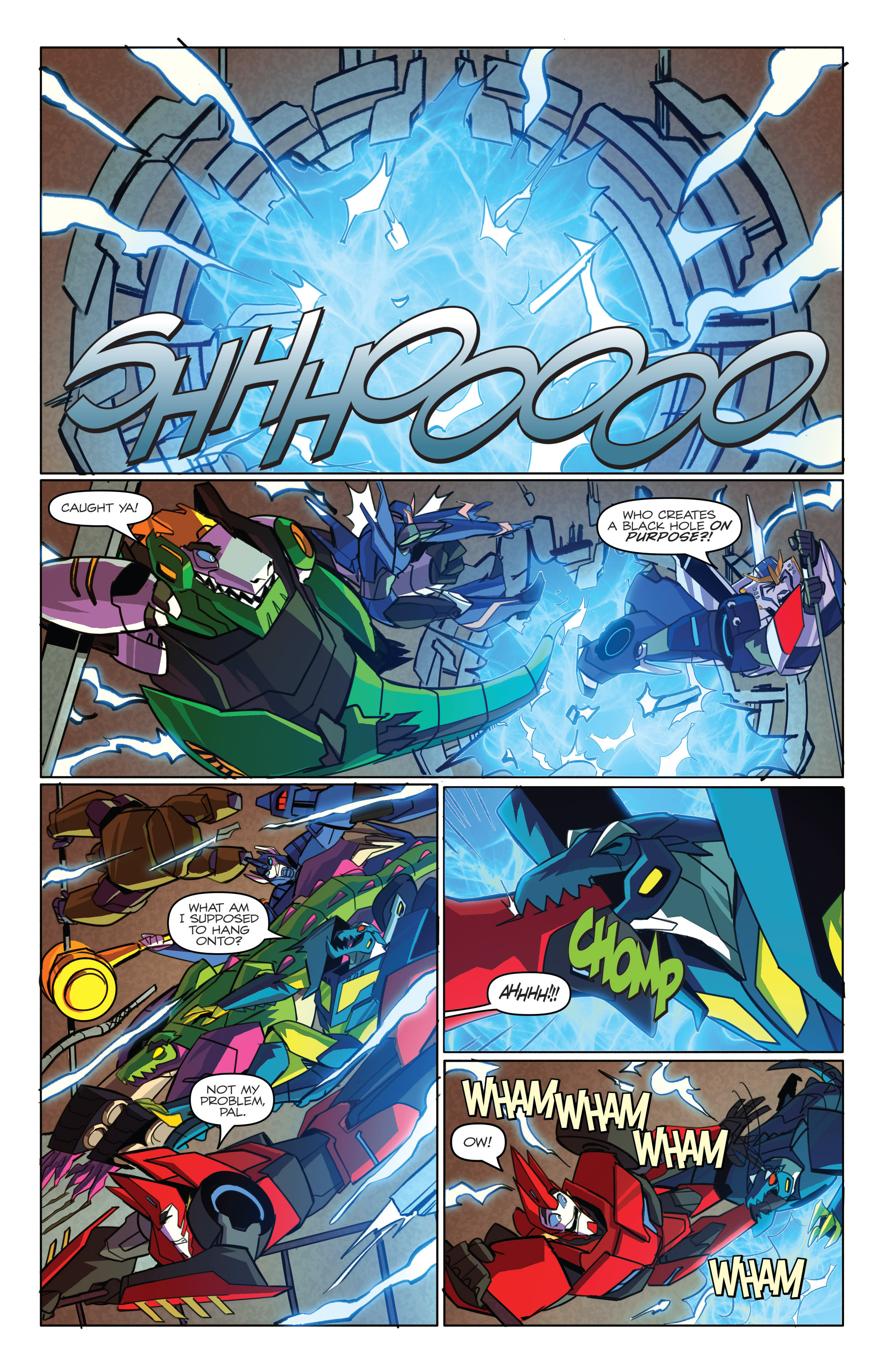 Read online Transformers: Robots In Disguise (2015) comic -  Issue #4 - 20