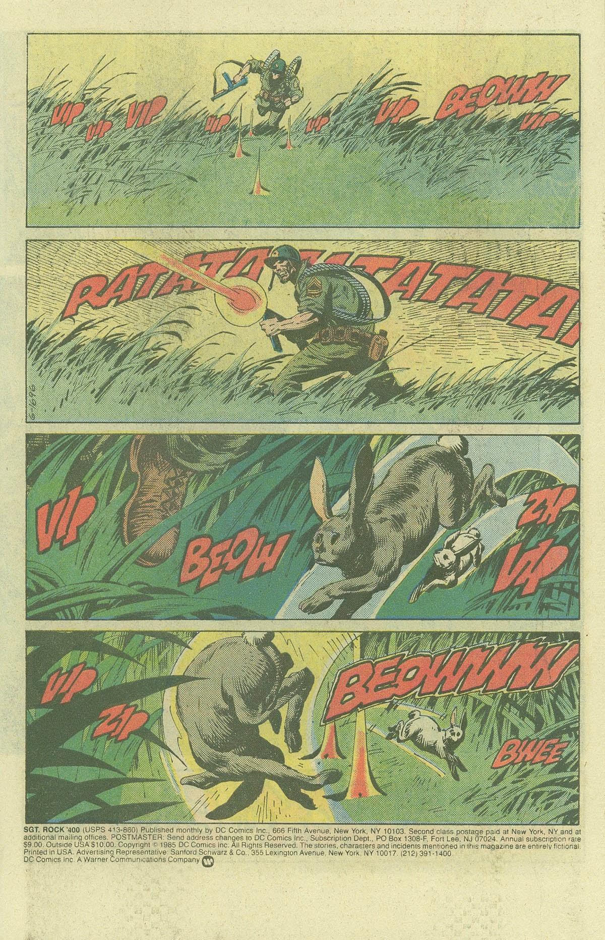 Read online Sgt. Rock comic -  Issue #400 - 3