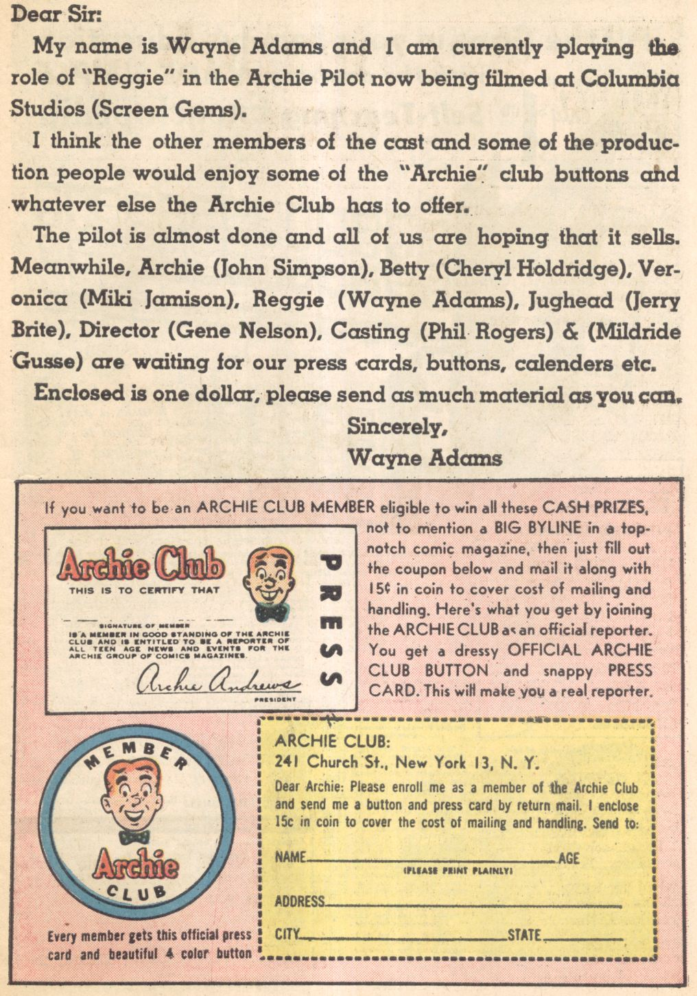 Read online Archie (1960) comic -  Issue #137 - 12