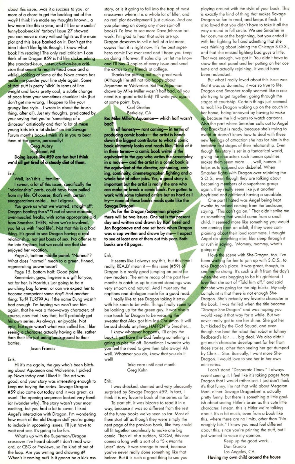 The Savage Dragon (1993) Issue #61 #64 - English 23
