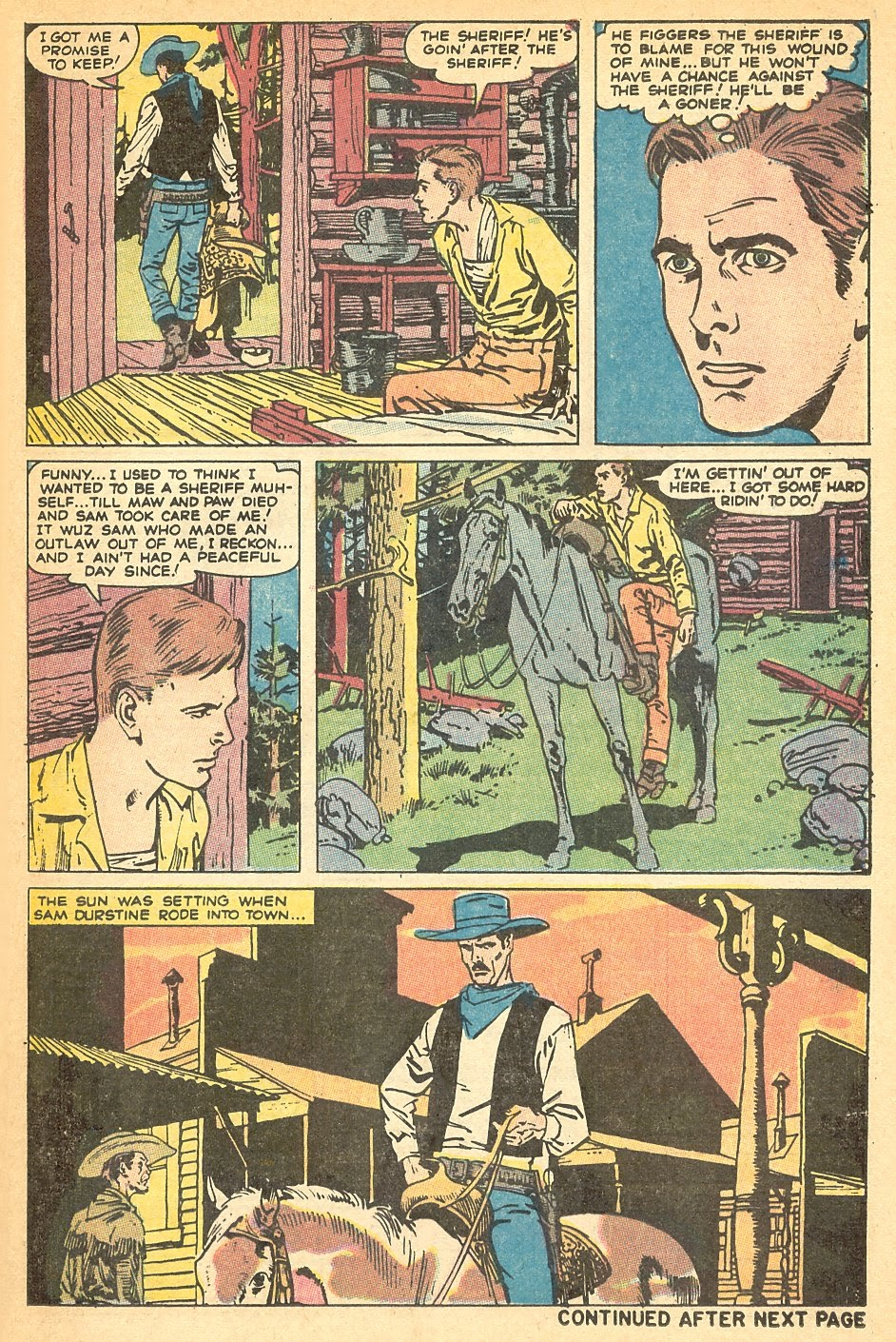 Kid Colt Outlaw issue 140 - Page 25