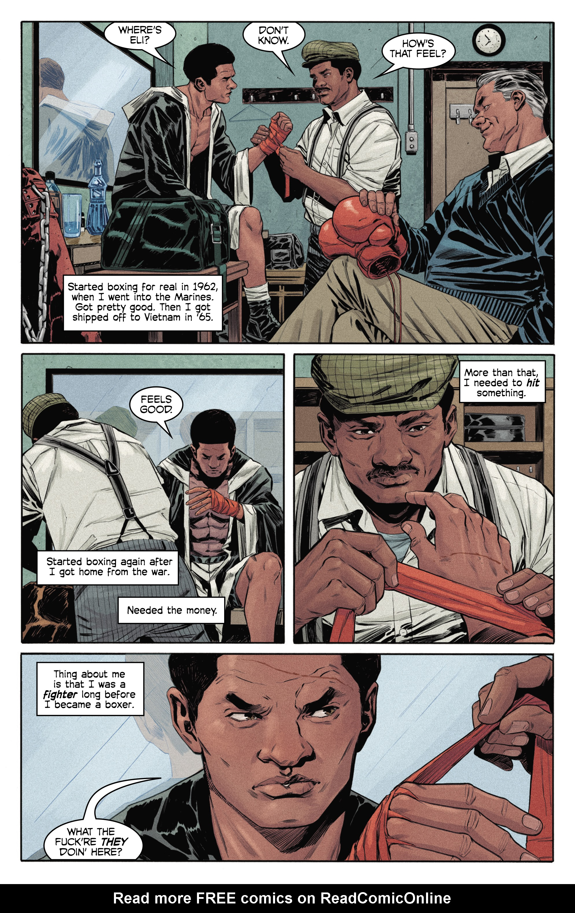 Read online Shaft comic -  Issue #1 - 10