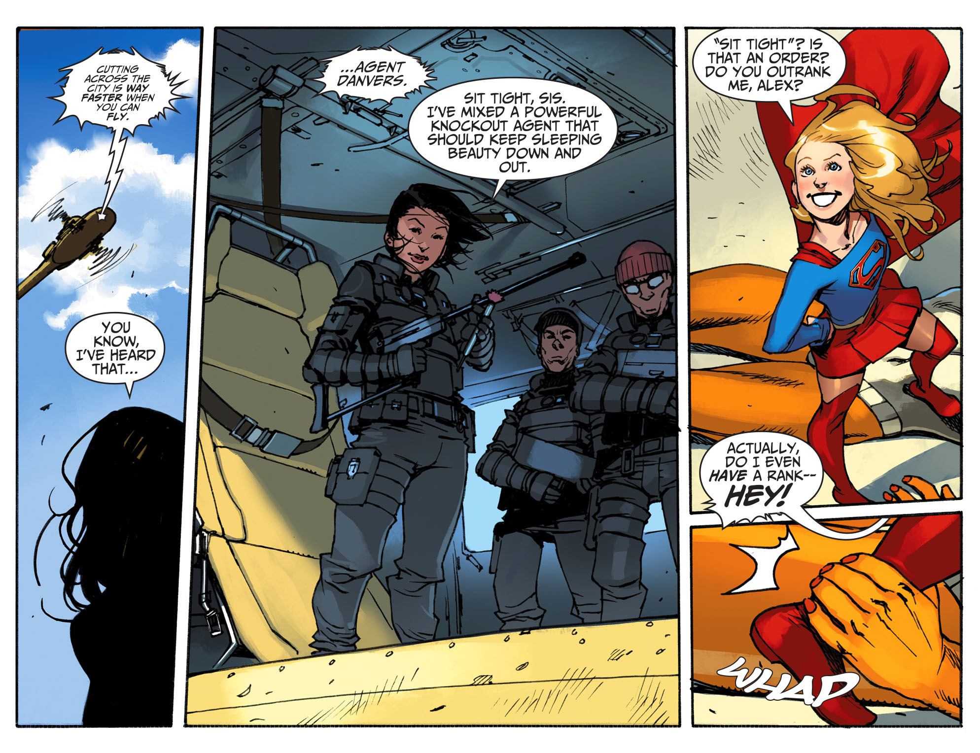 Read online Adventures of Supergirl comic -  Issue #1 - 19