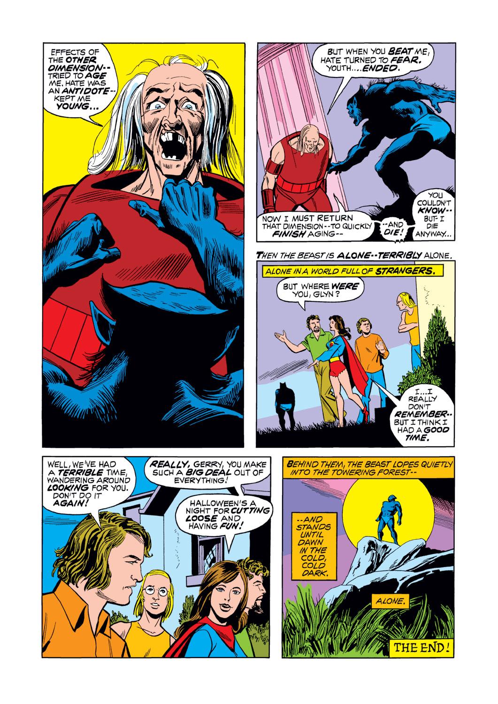 Read online Amazing Adventures (1970) comic -  Issue #16 - 21