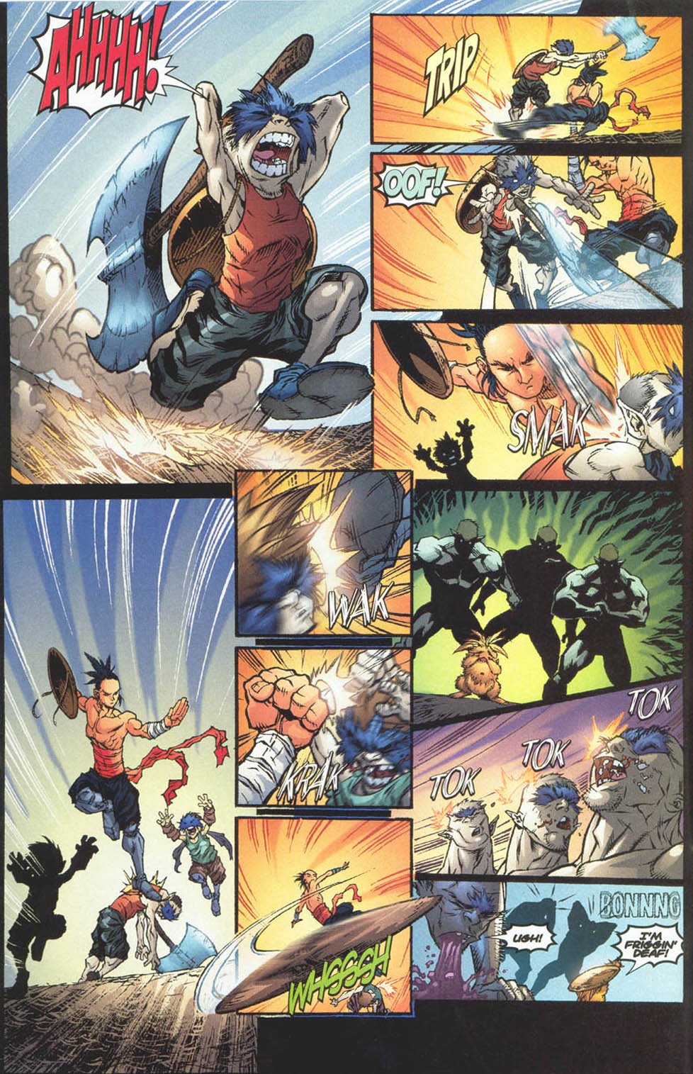 Read online Ninja Boy comic -  Issue #4 - 9