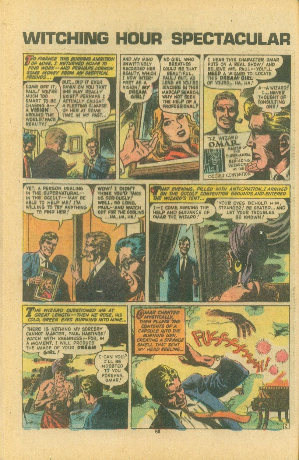 The Witching Hour (1969) issue 38 - Page 70