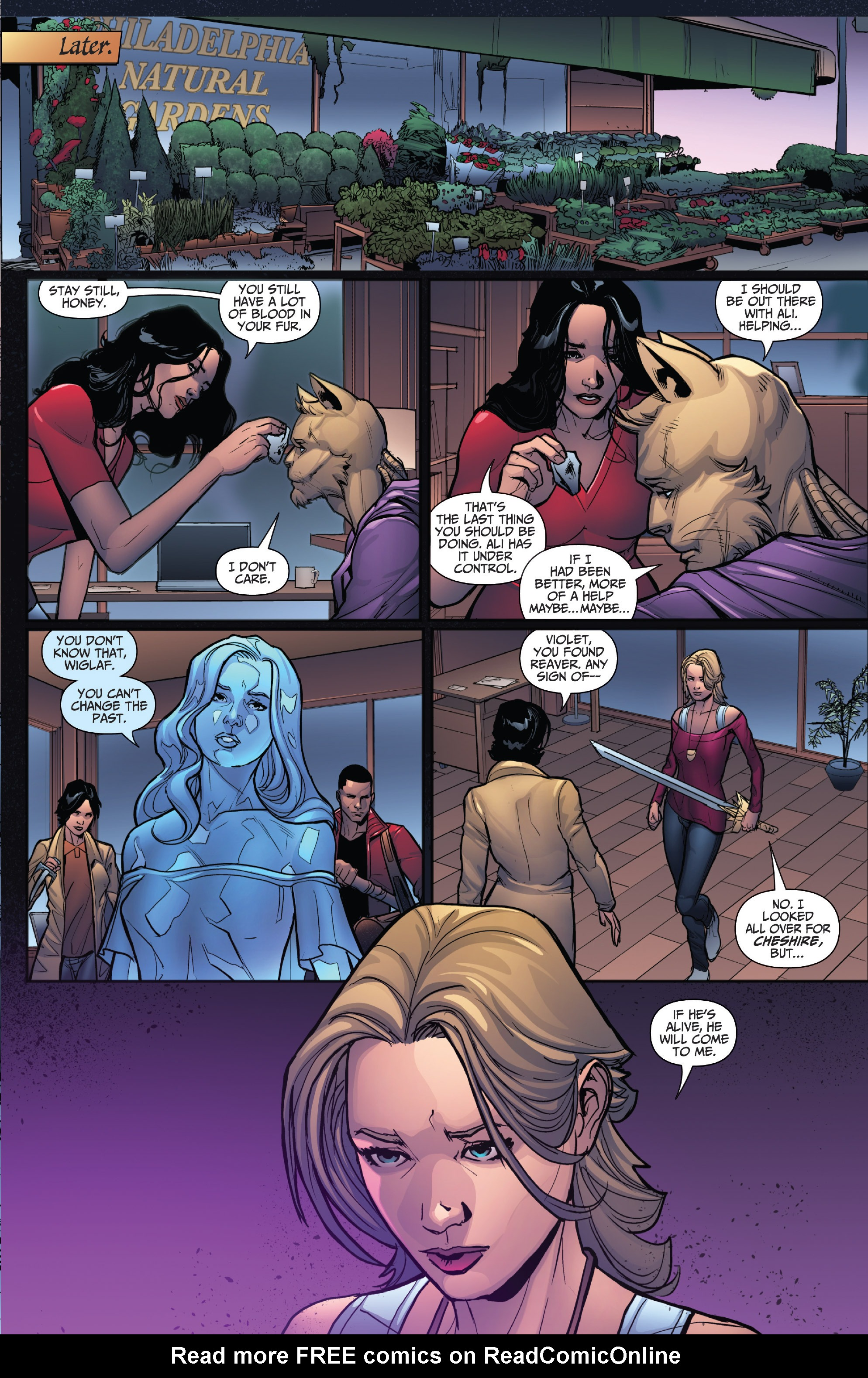 Read online Grimm Fairy Tales: Arcane Acre comic -  Issue # TPB 4 - 136