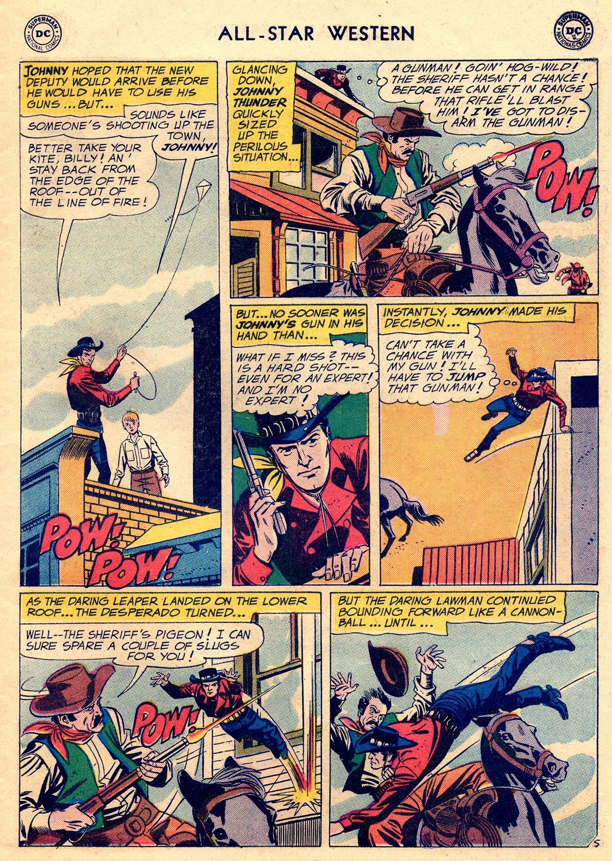 Read online All-Star Western (1951) comic -  Issue #109 - 7
