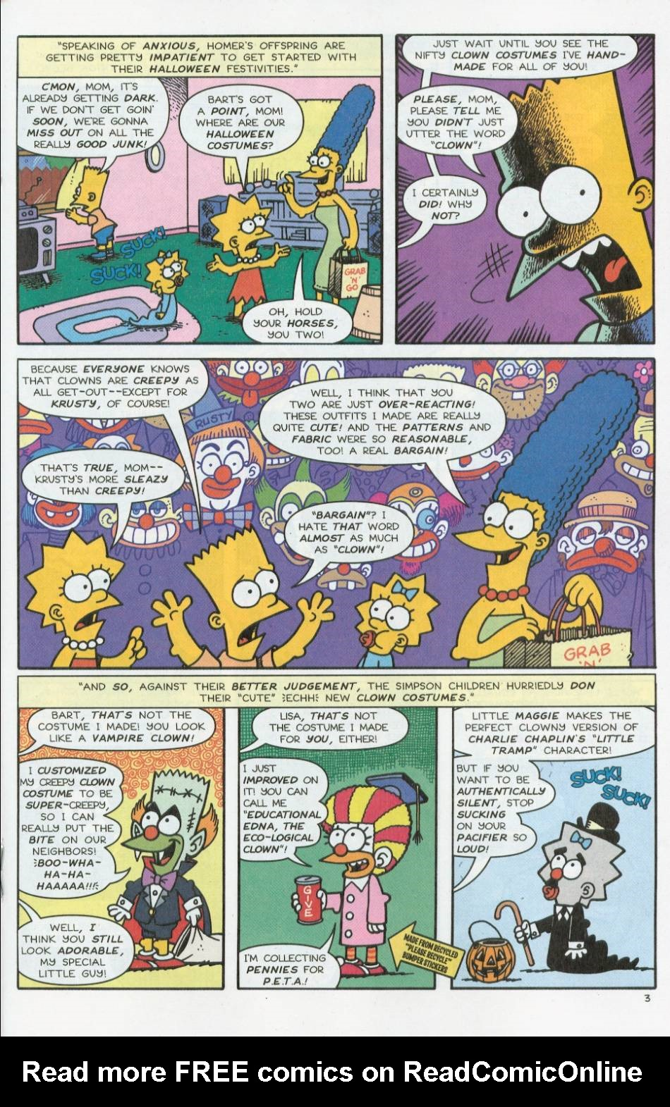 Read online Treehouse of Horror comic -  Issue #8 - 24