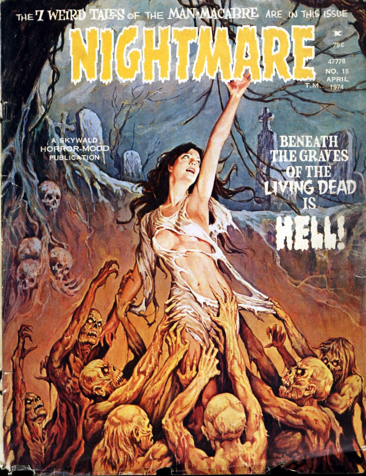 Nightmare (1970) issue 18 - Page 1