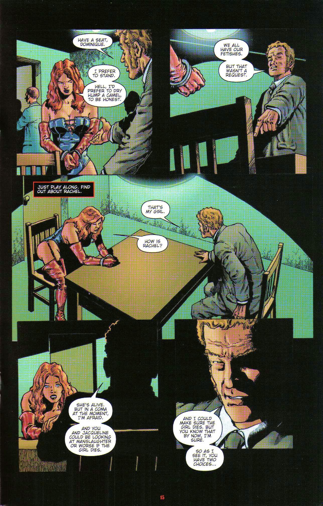 Read online Dominatrix comic -  Issue #6 - 17