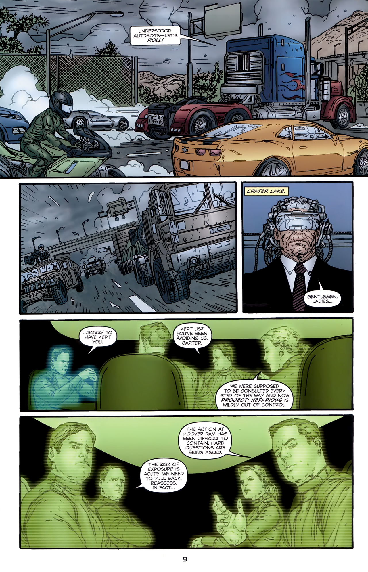 Read online Transformers: Nefarious comic -  Issue #5 - 12