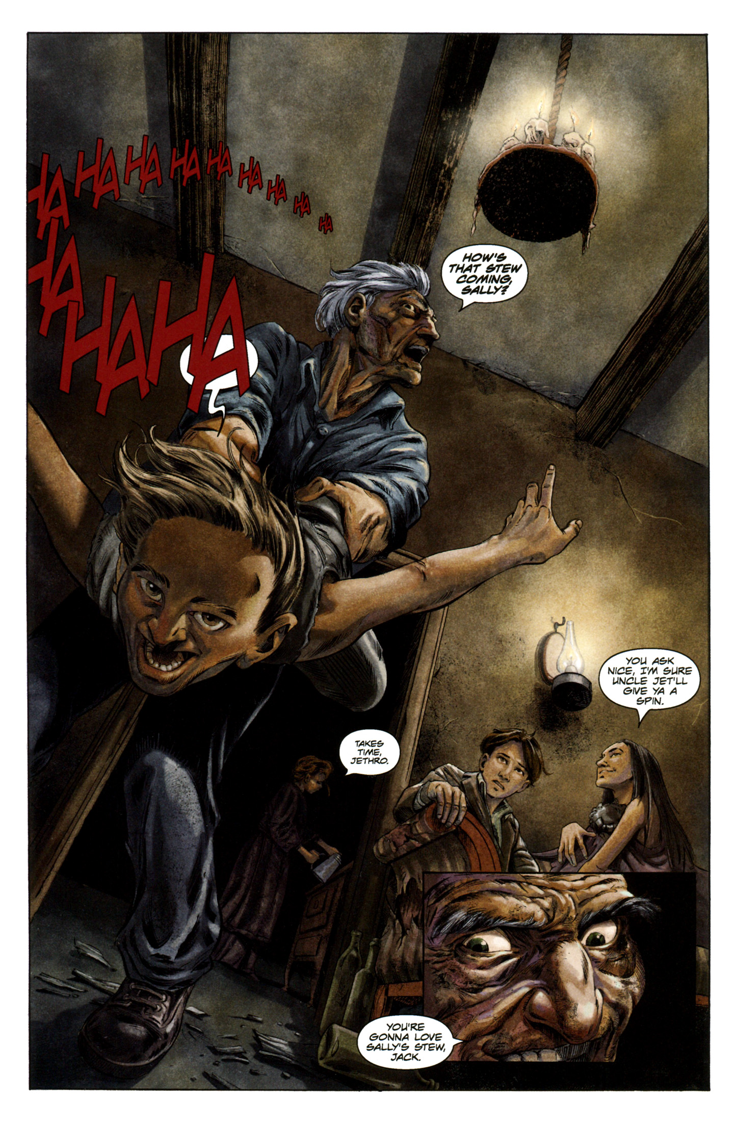 Read online Severed comic -  Issue #5 - 10
