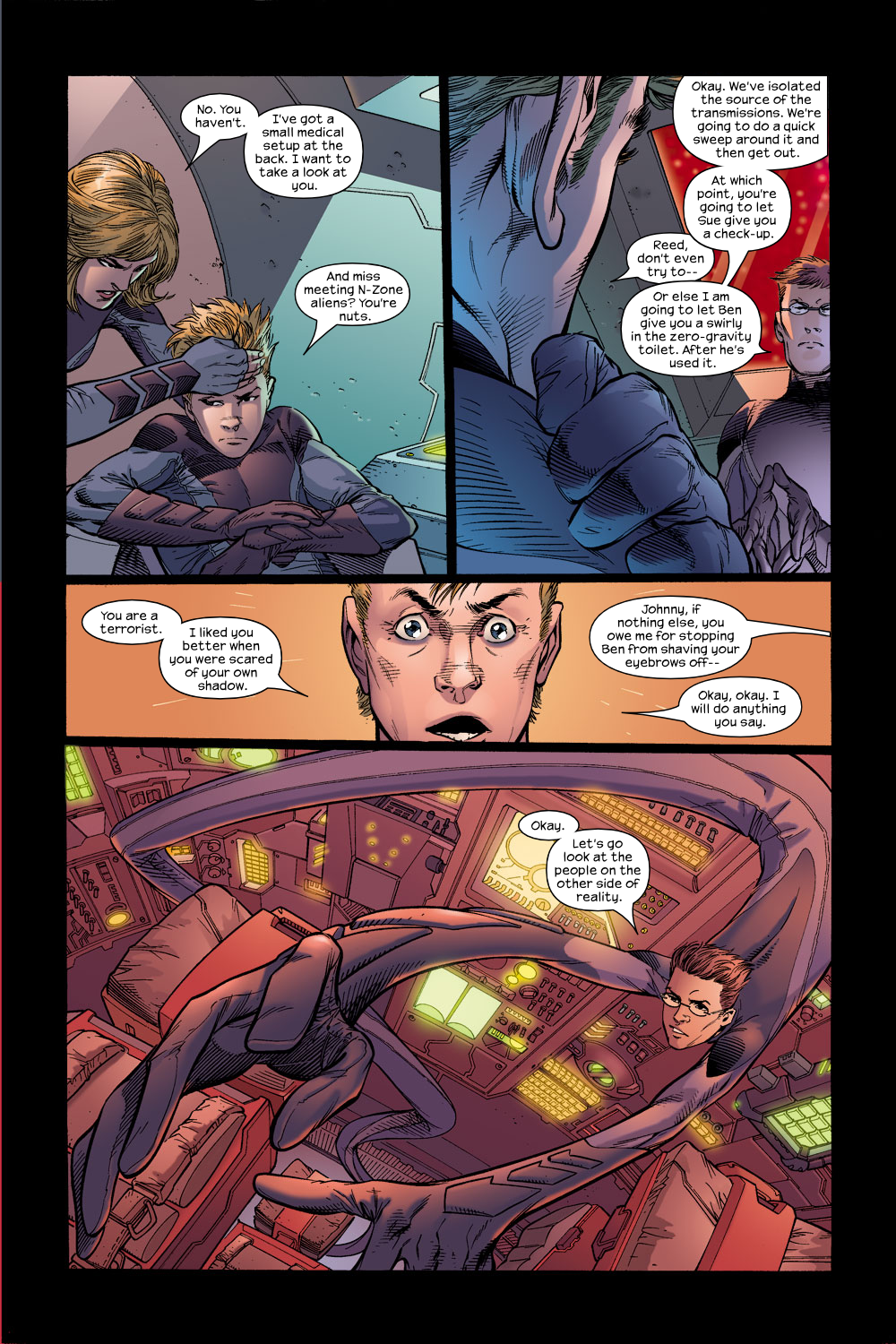 Read online Ultimate Fantastic Four (2004) comic -  Issue #15 - 10