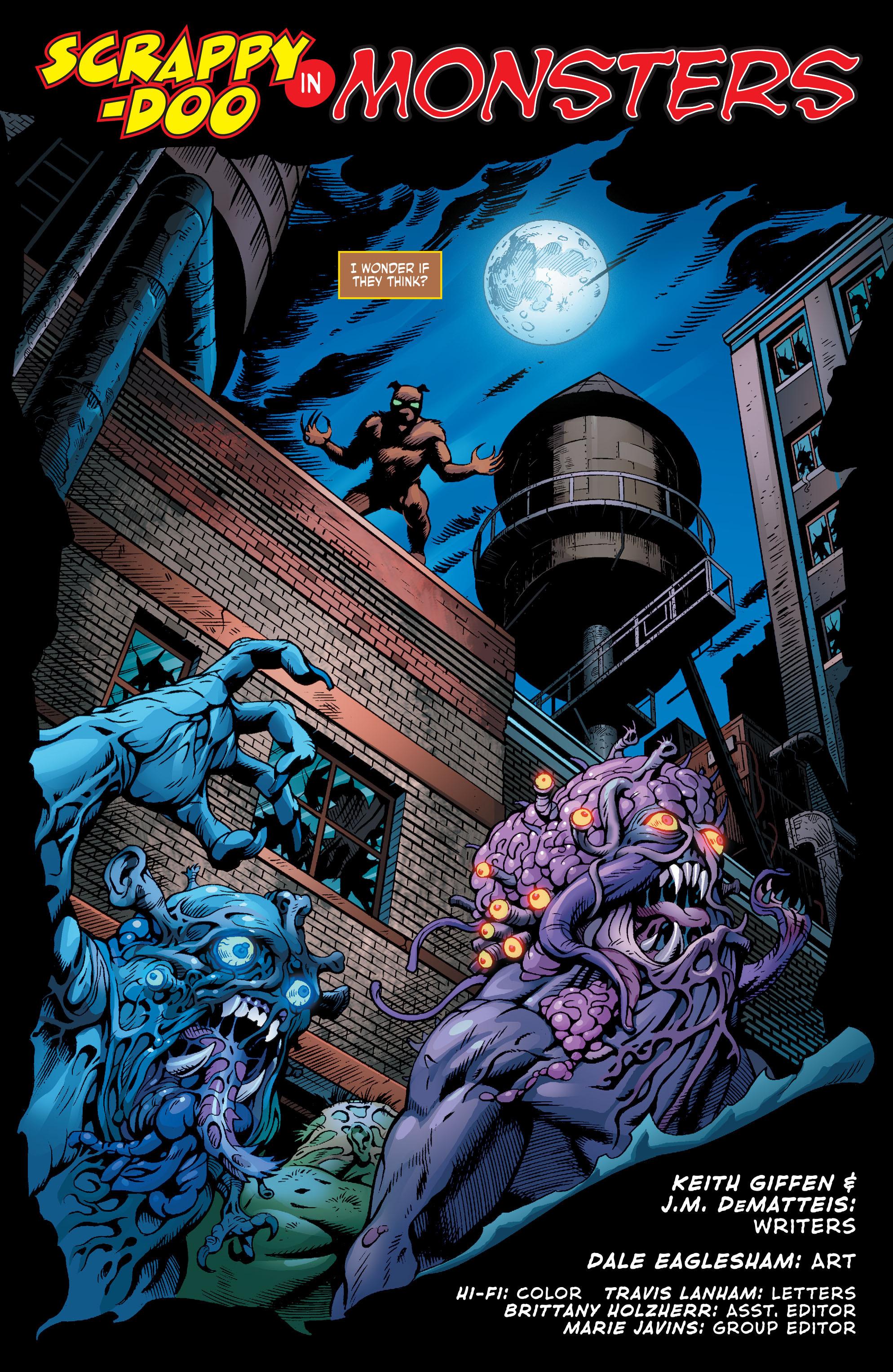 Read online Scooby Apocalypse comic -  Issue #9 - 19
