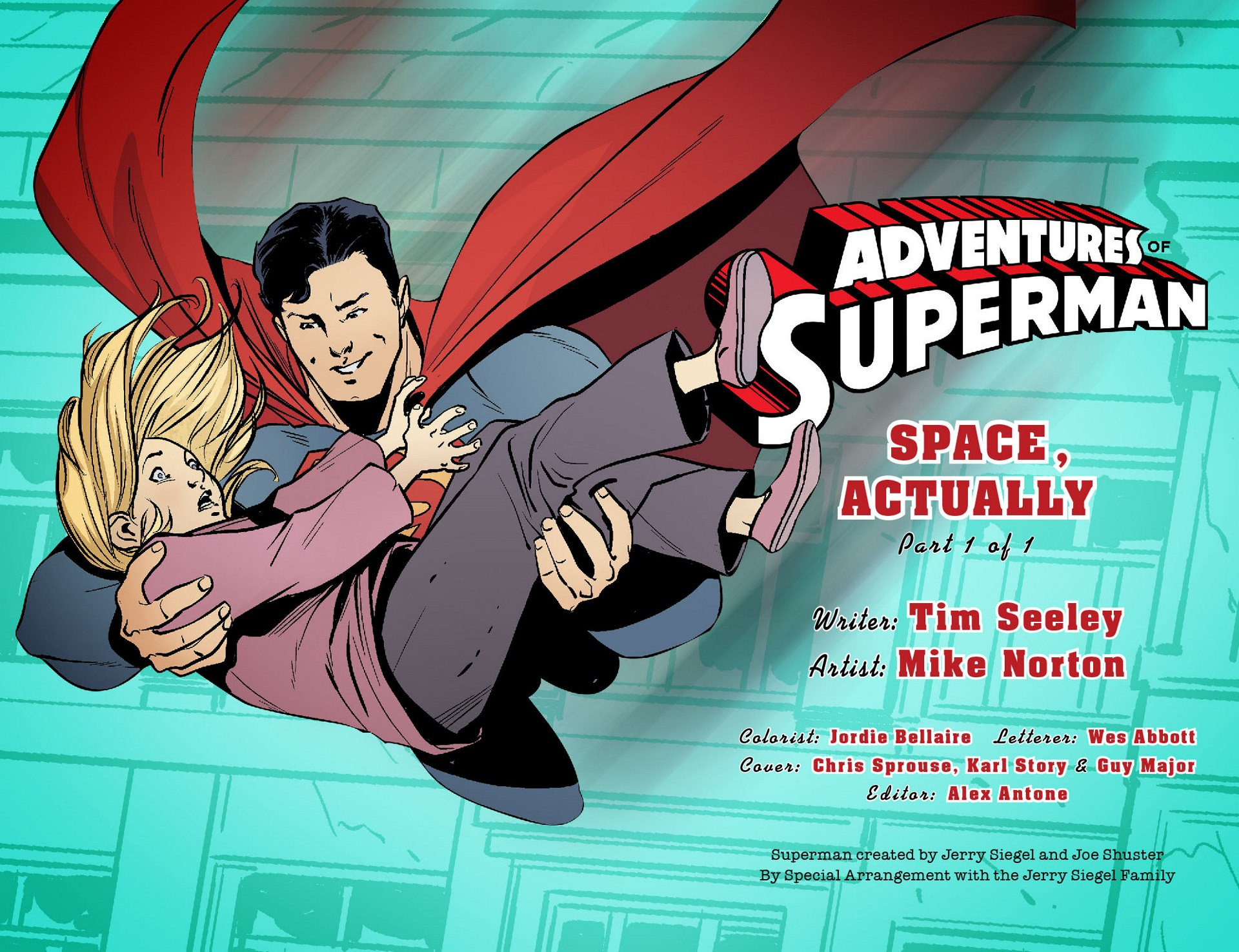Read online Adventures of Superman [I] comic -  Issue #21 - 2