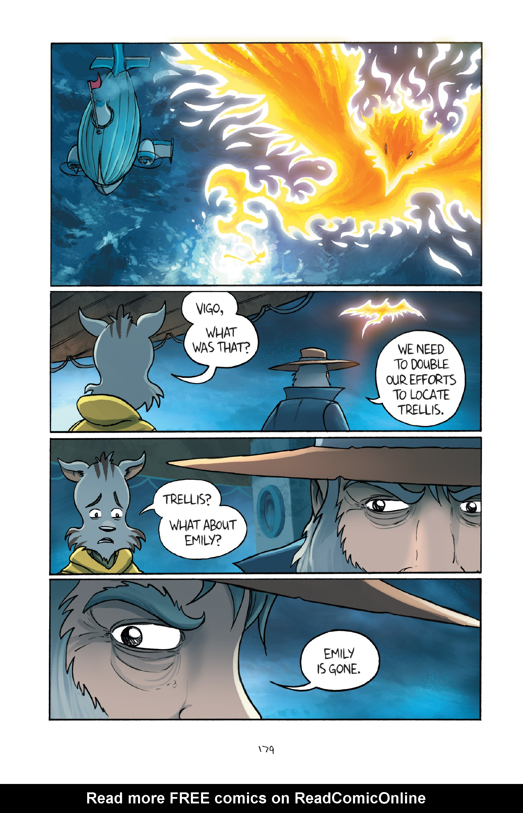 Read online Amulet comic -  Issue #7 - 179