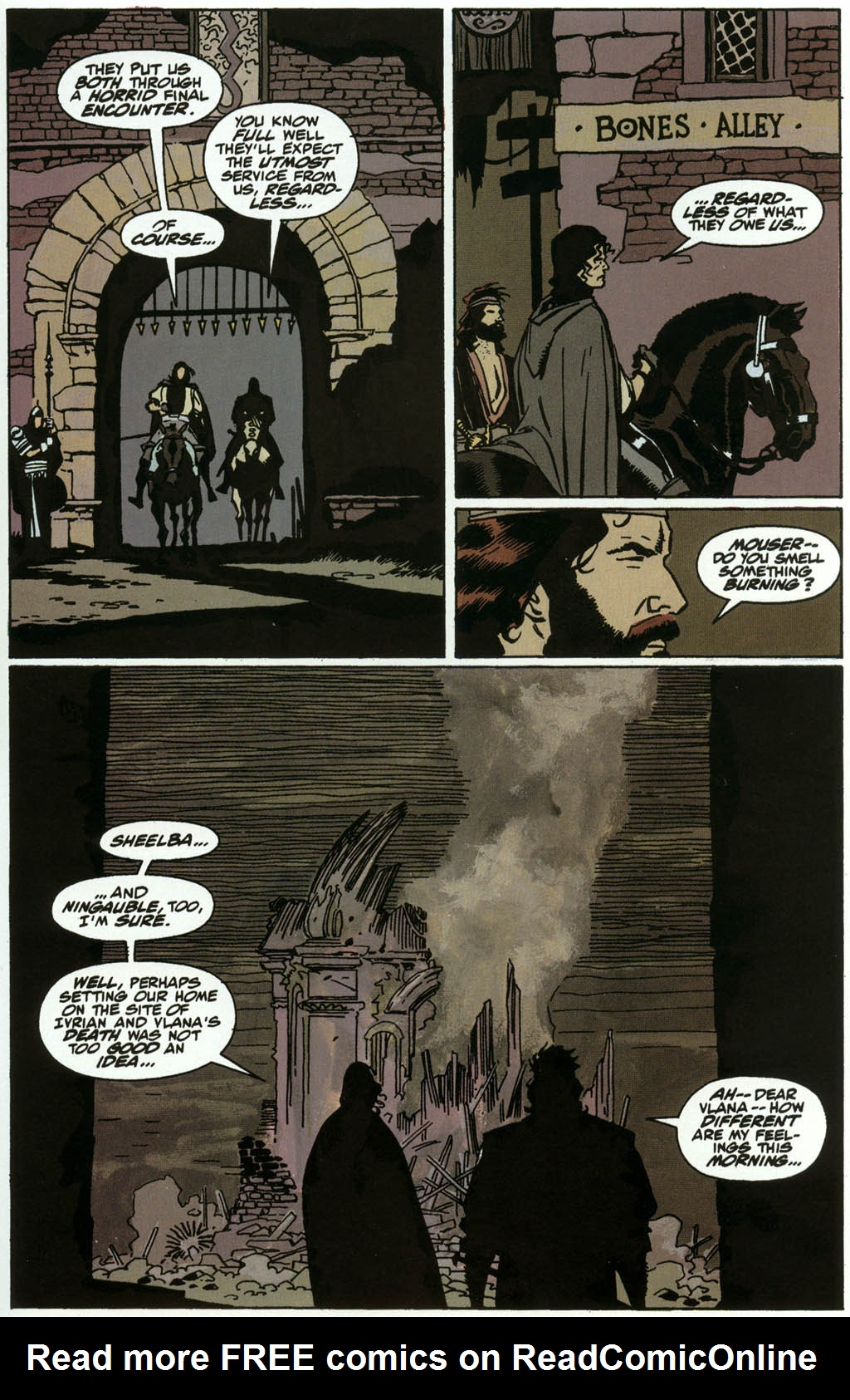 Read online Fafhrd and the Gray Mouser comic -  Issue #3 - 21