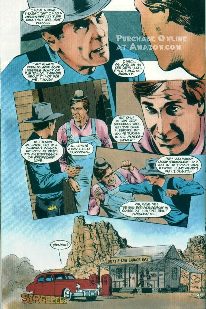 Read online Quantum Leap comic -  Issue #12 - 19