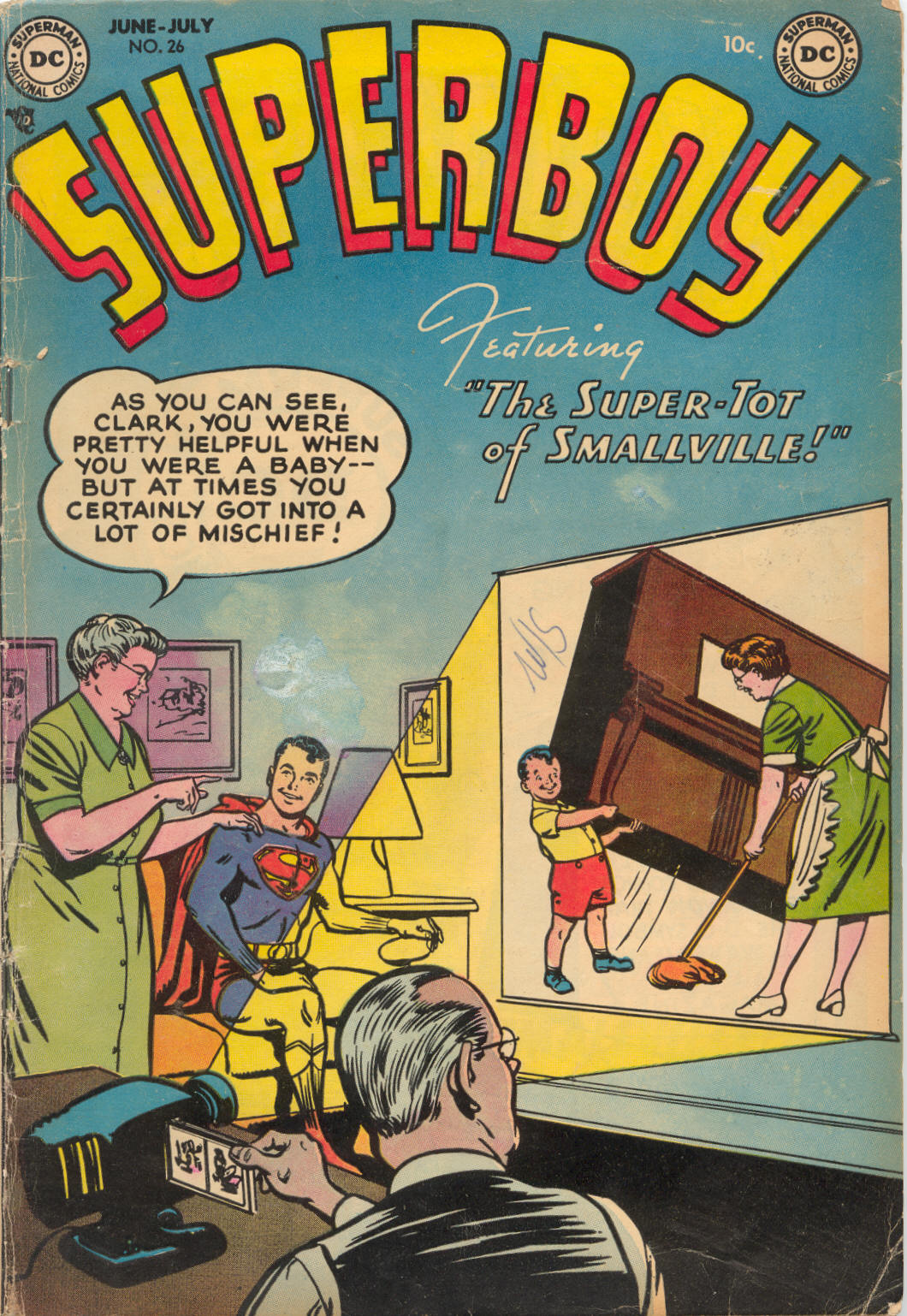 Superboy (1949) issue 26 - Page 1