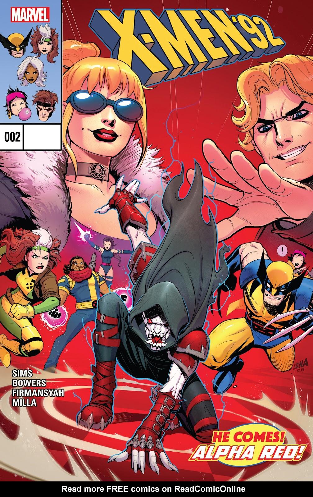 X-Men 92 (2016) 2 Page 1