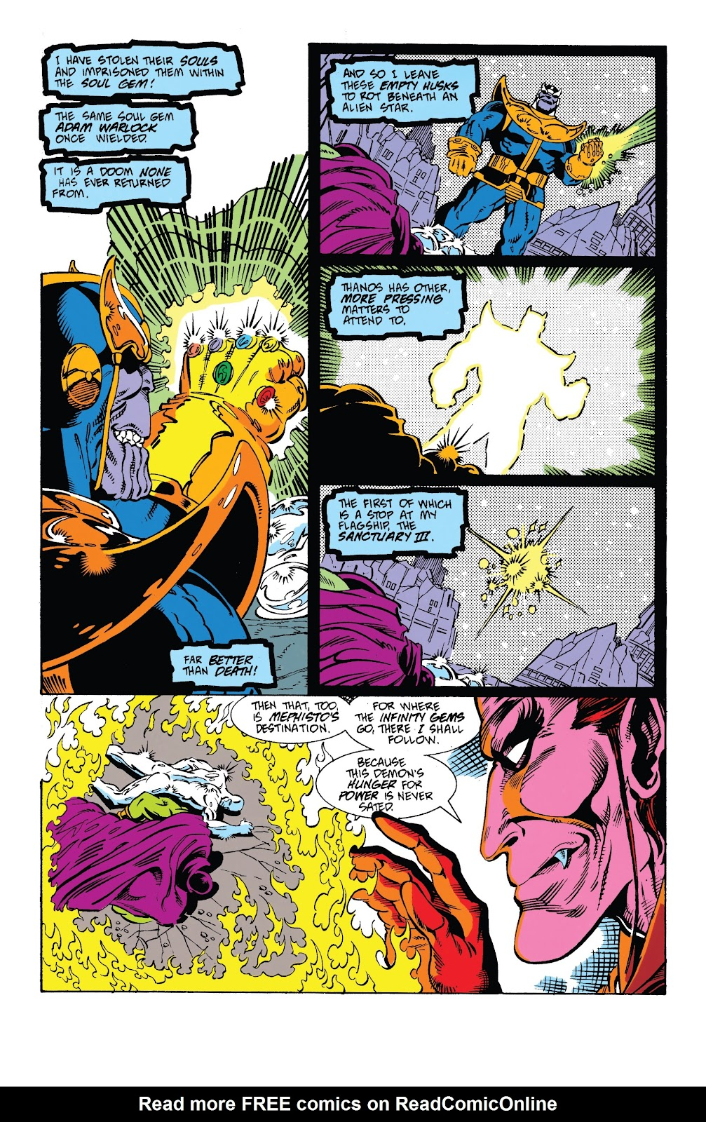 Read online Marvel Tales: Thanos comic -  Issue # Full - 27