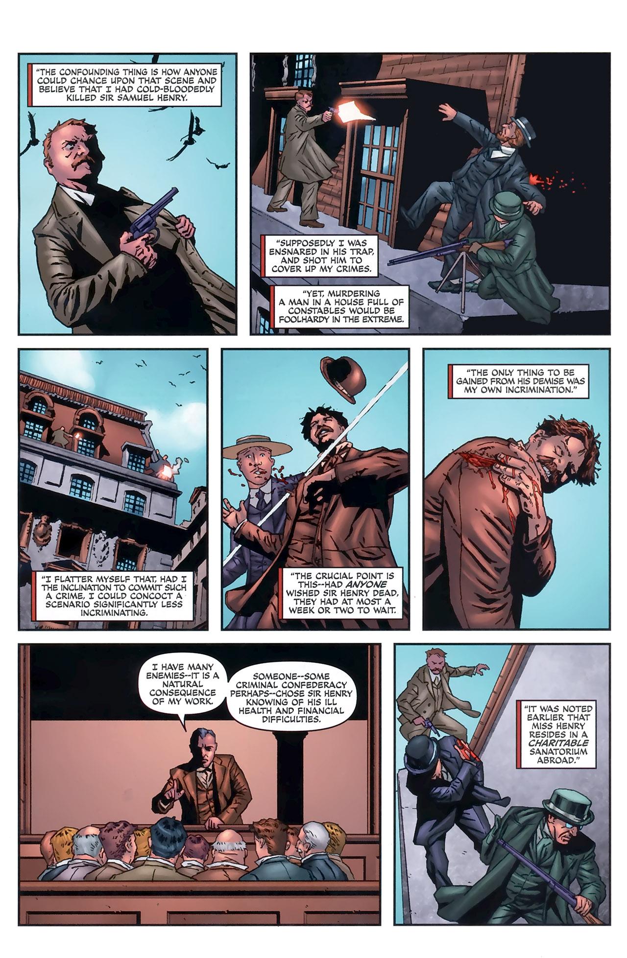 Read online Sherlock Holmes (2009) comic -  Issue #5 - 20