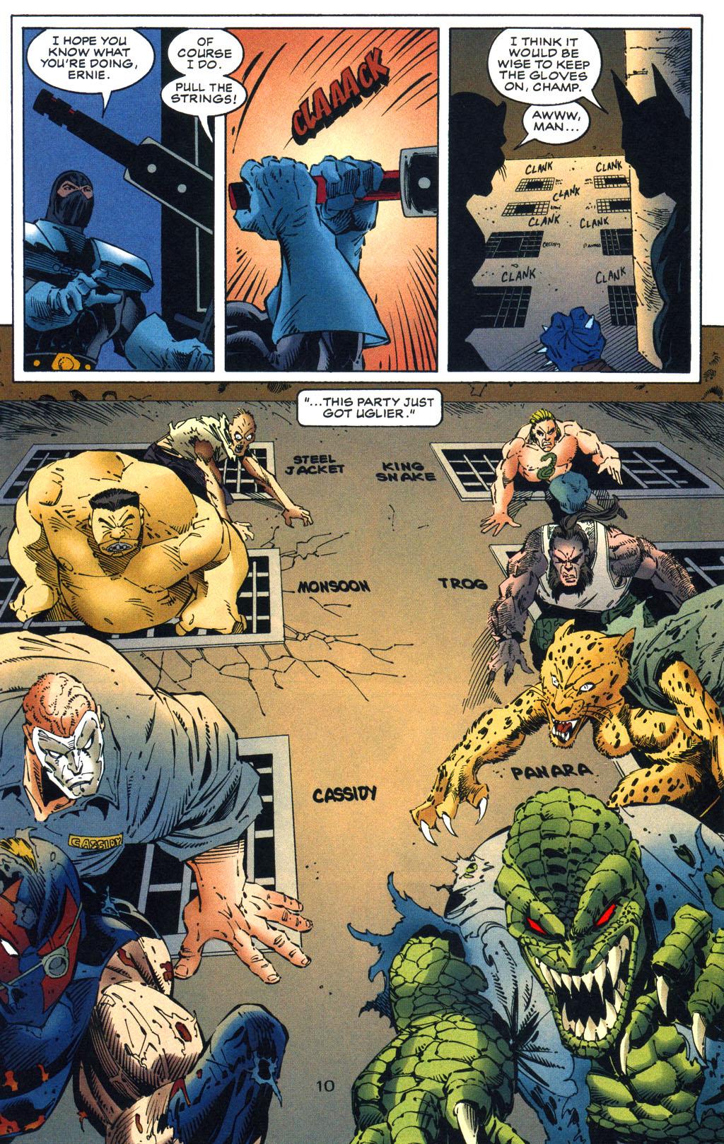 Read online Batman/Wildcat comic -  Issue #3 - 10