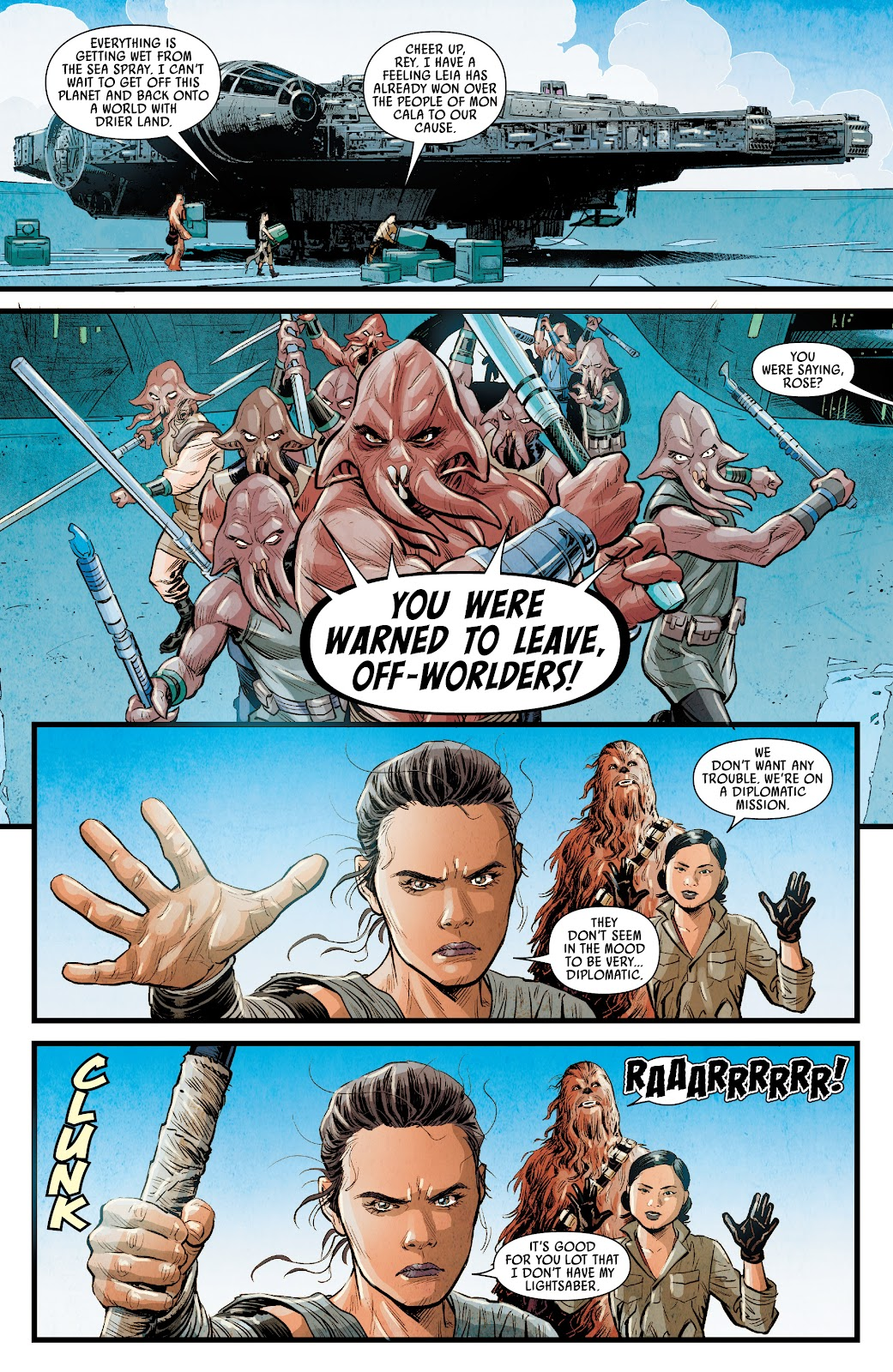 Read Online Journey To Star Wars The Rise Of Skywalker Allegiance Comic Issue 2