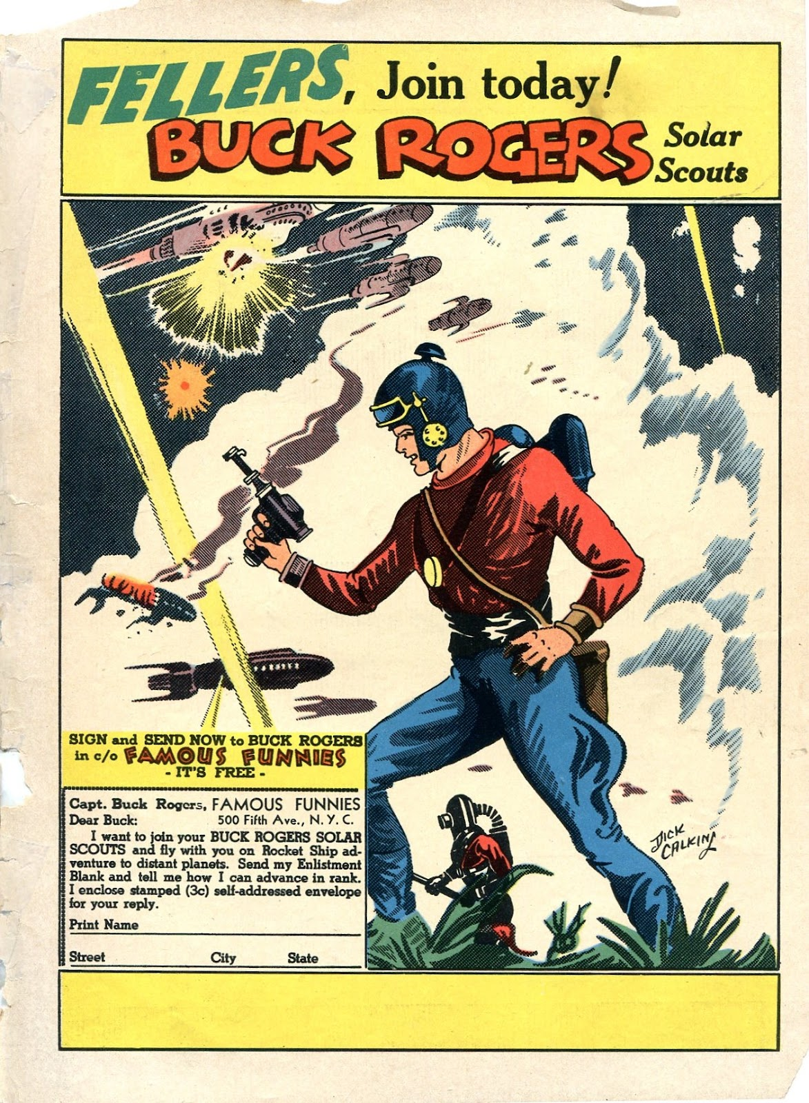 Read online Famous Funnies comic -  Issue #84 - 67